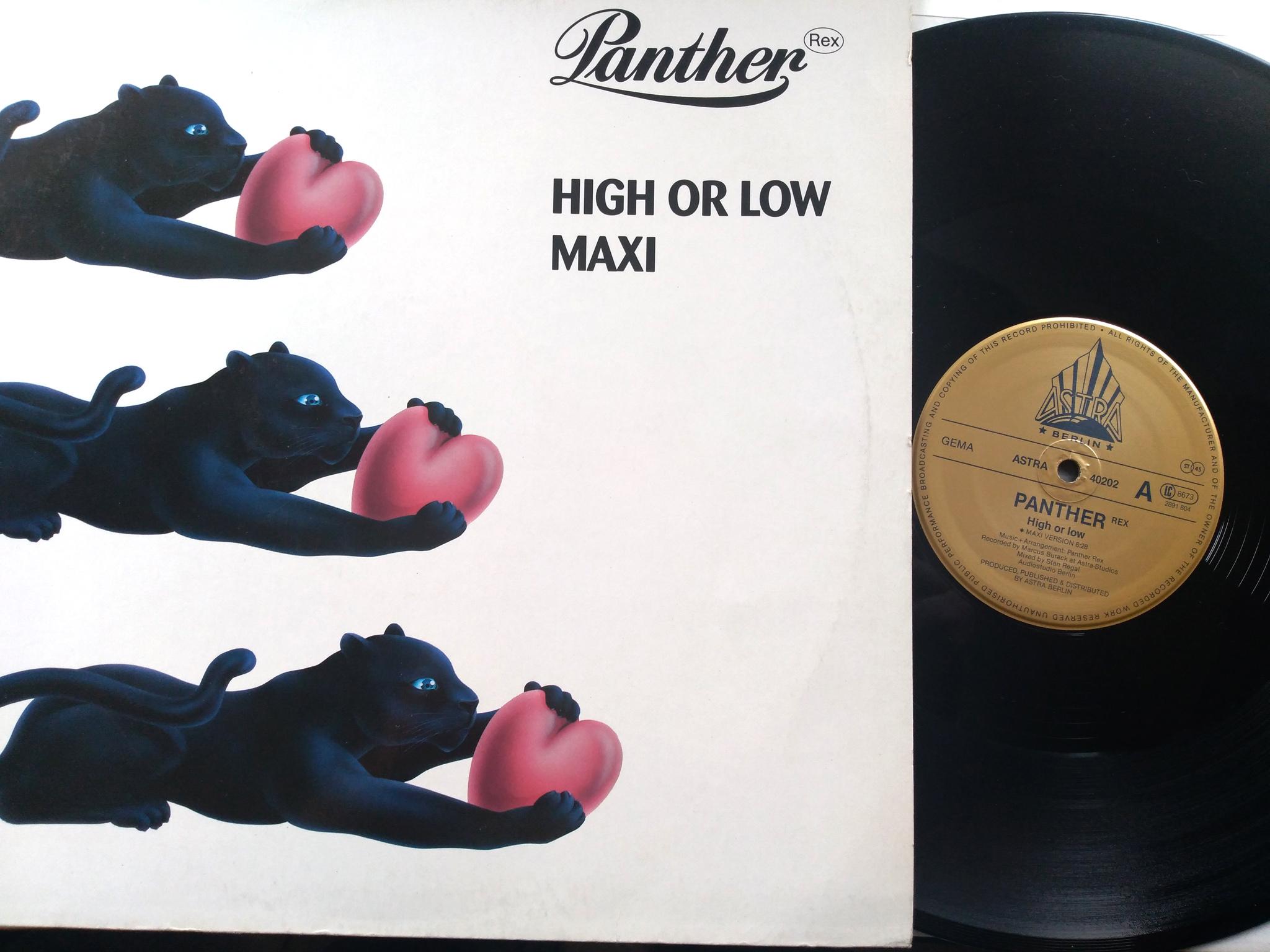 Panther Rex - High  Or Low