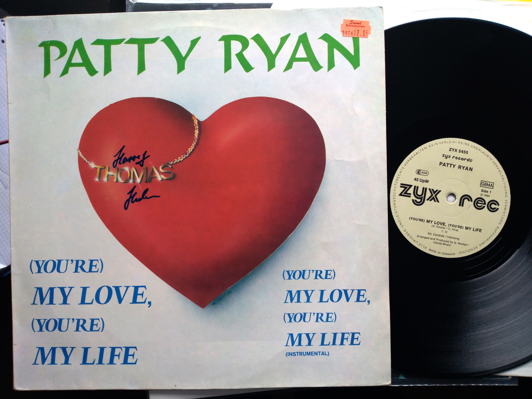 Patty Ryan - You're My Love, You're My Life
