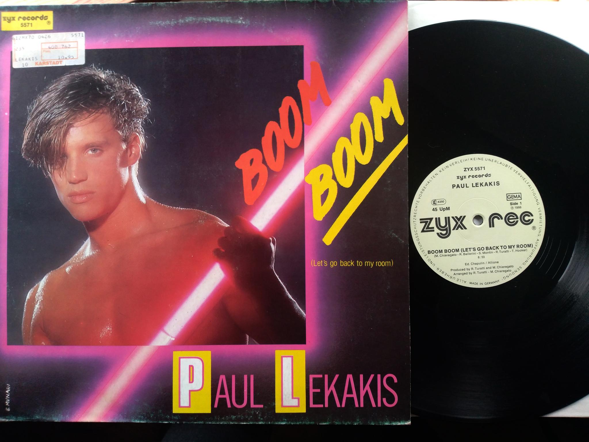 Paul Lekakis - Boom boom boom
