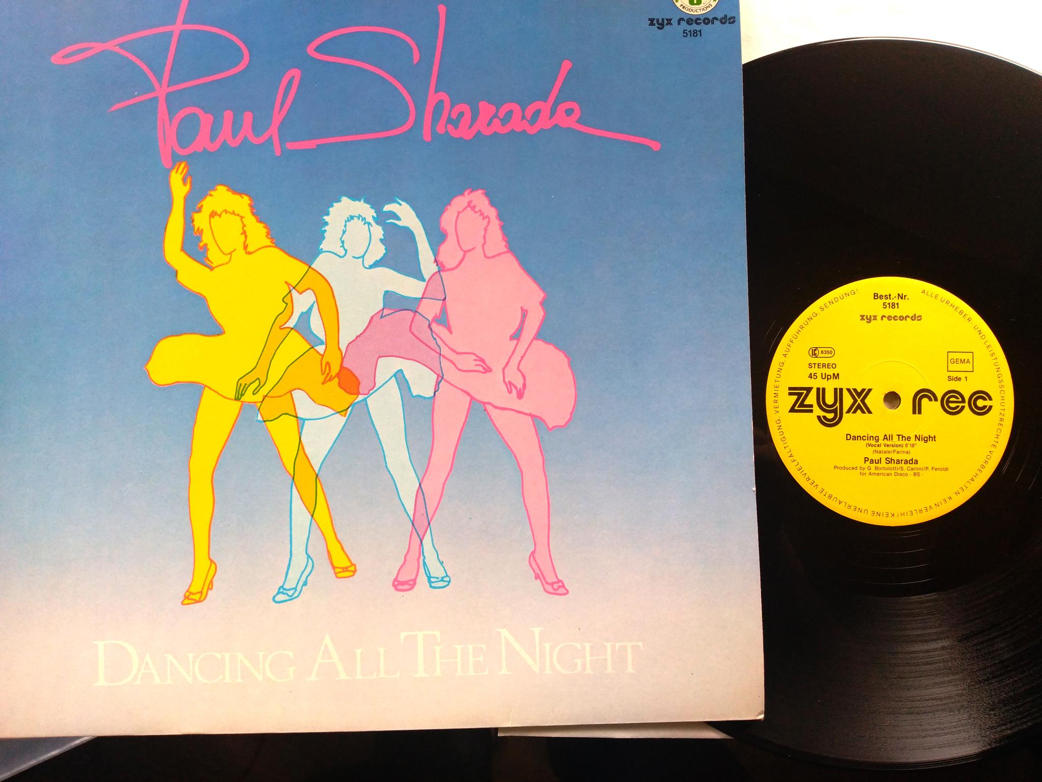 Paul Sharada - Dancing All The Night