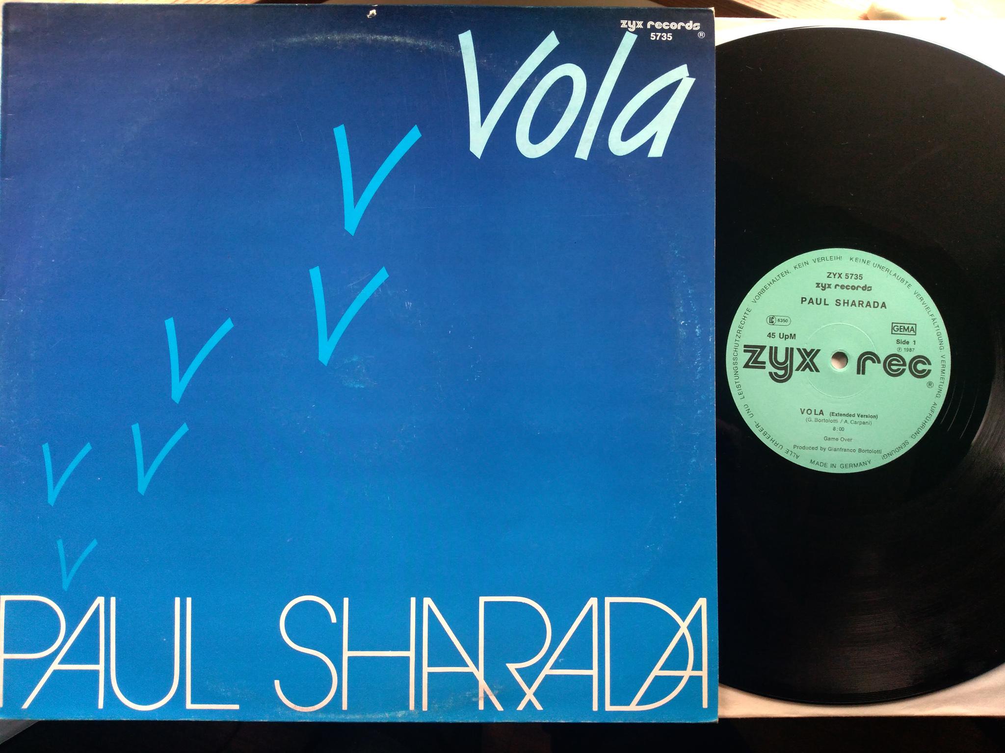 Paul Sharada - Vola