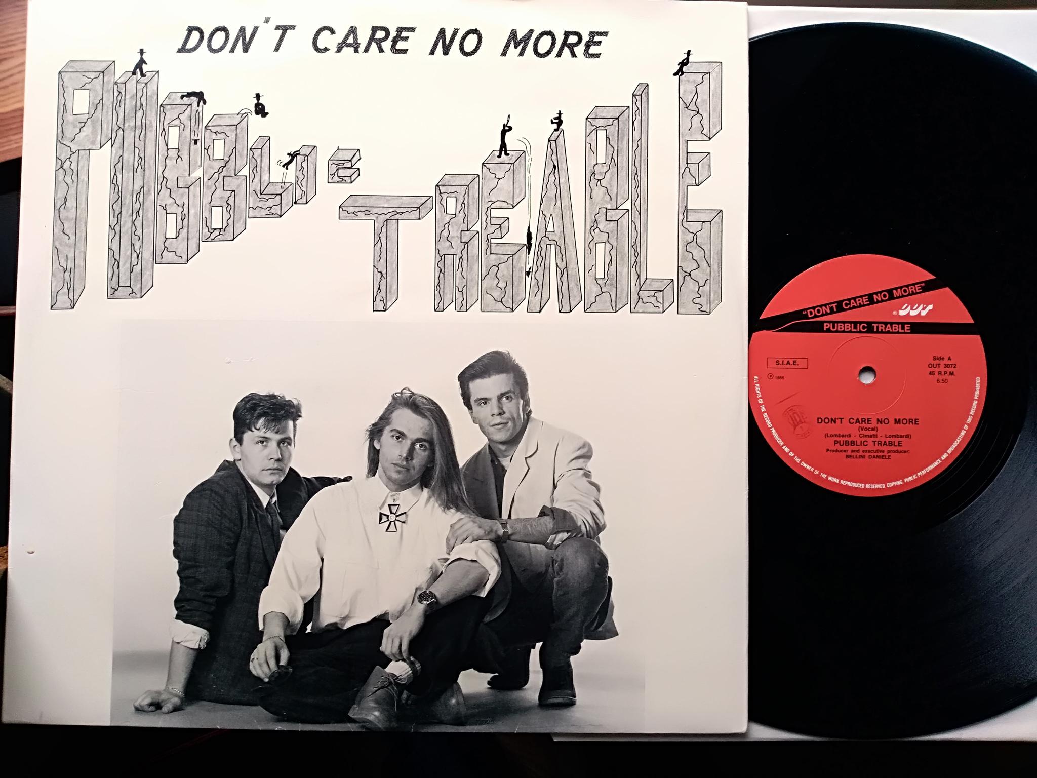 Pubblic Trable - Don't Care No More