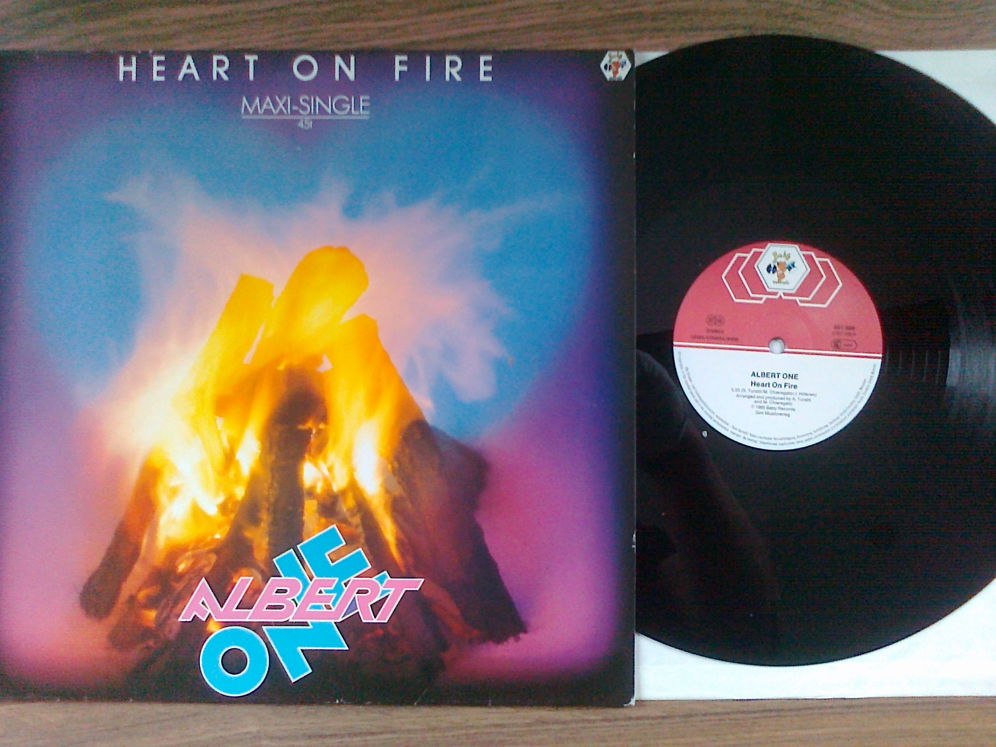 Albert One - Heart on fire