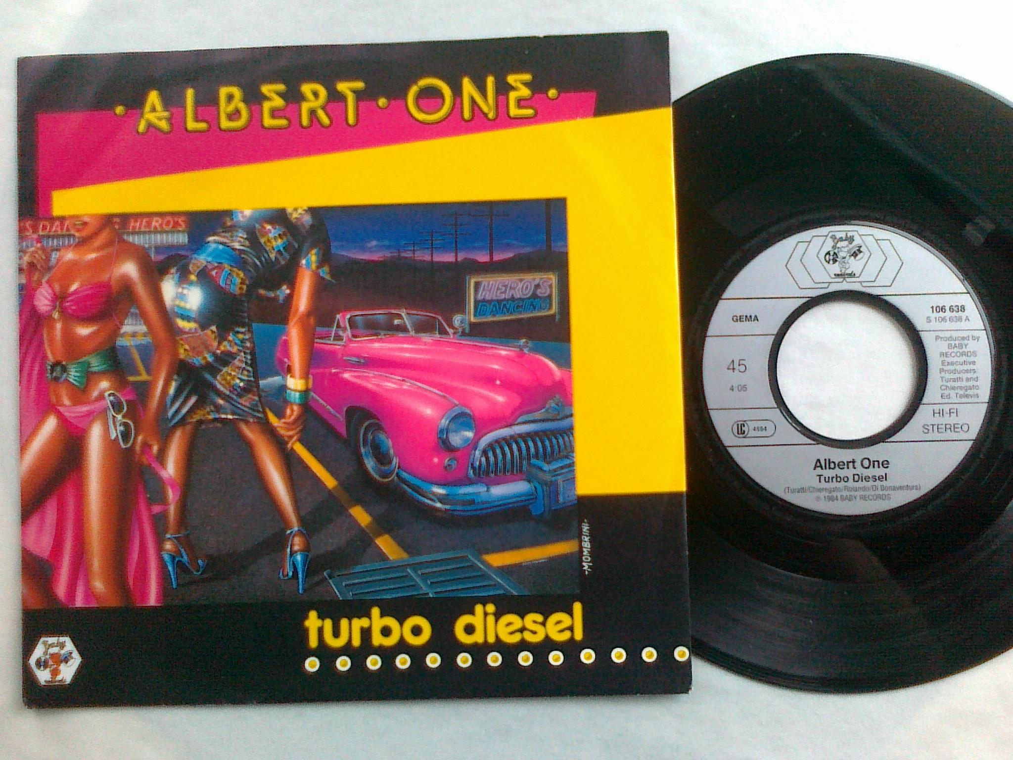 Albert One - Turbo Diesel 7'single
