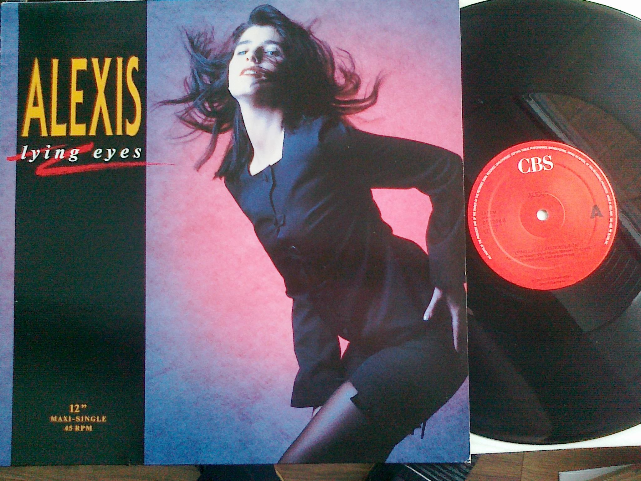 Alexis - Lyig Eyes