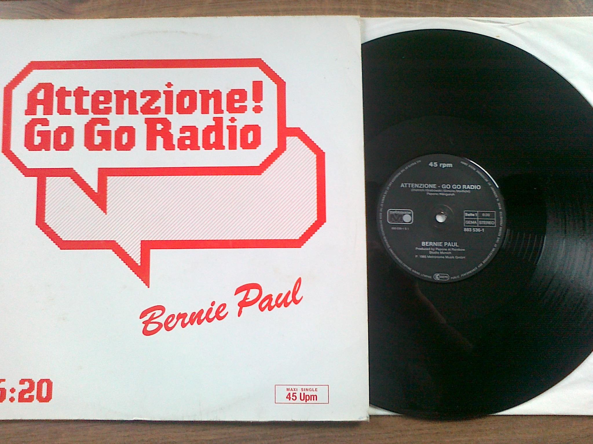 Bernie Paul - Attenzione! Go Go Radio