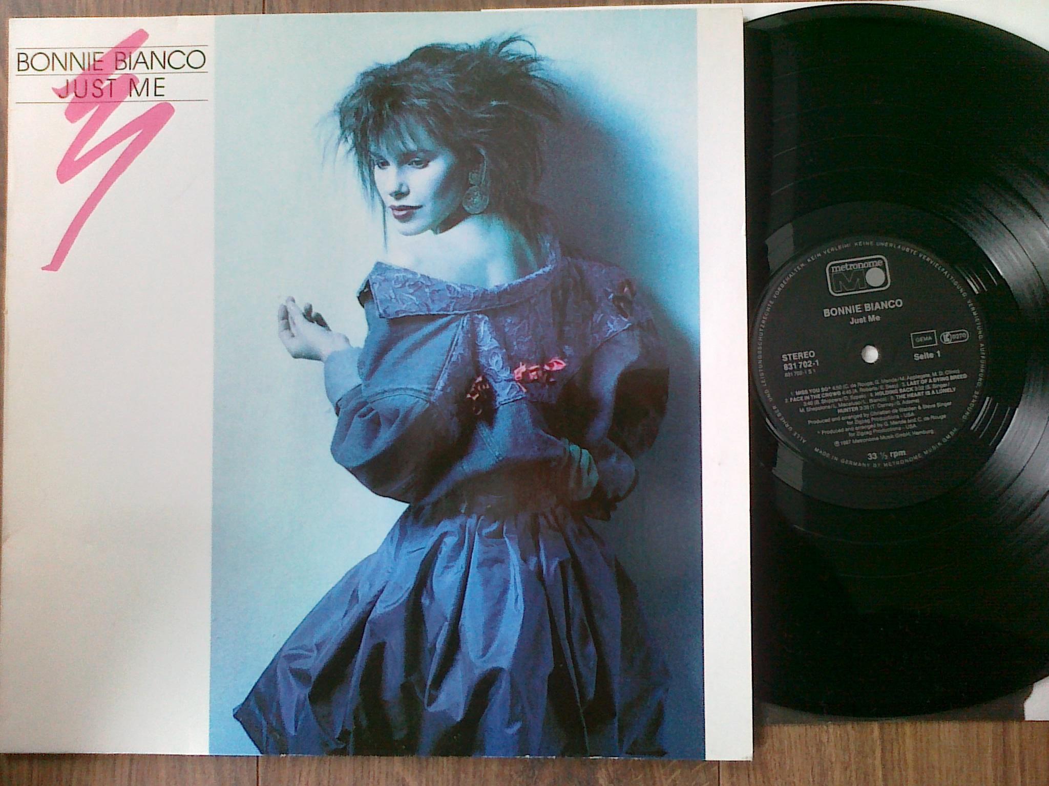 Bonnie Bianco - Just Me LP