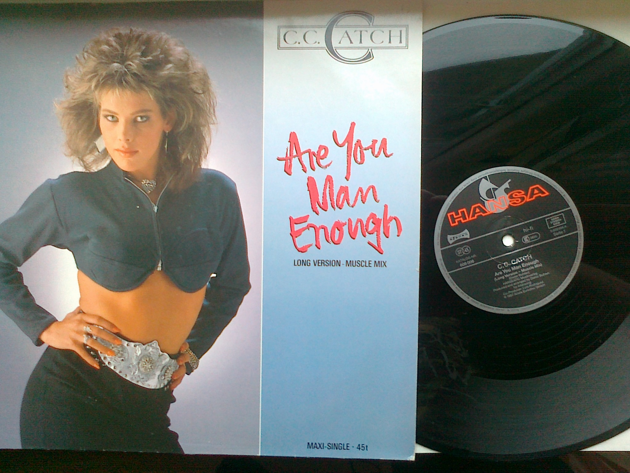 C. C. Catch - Are you man enough