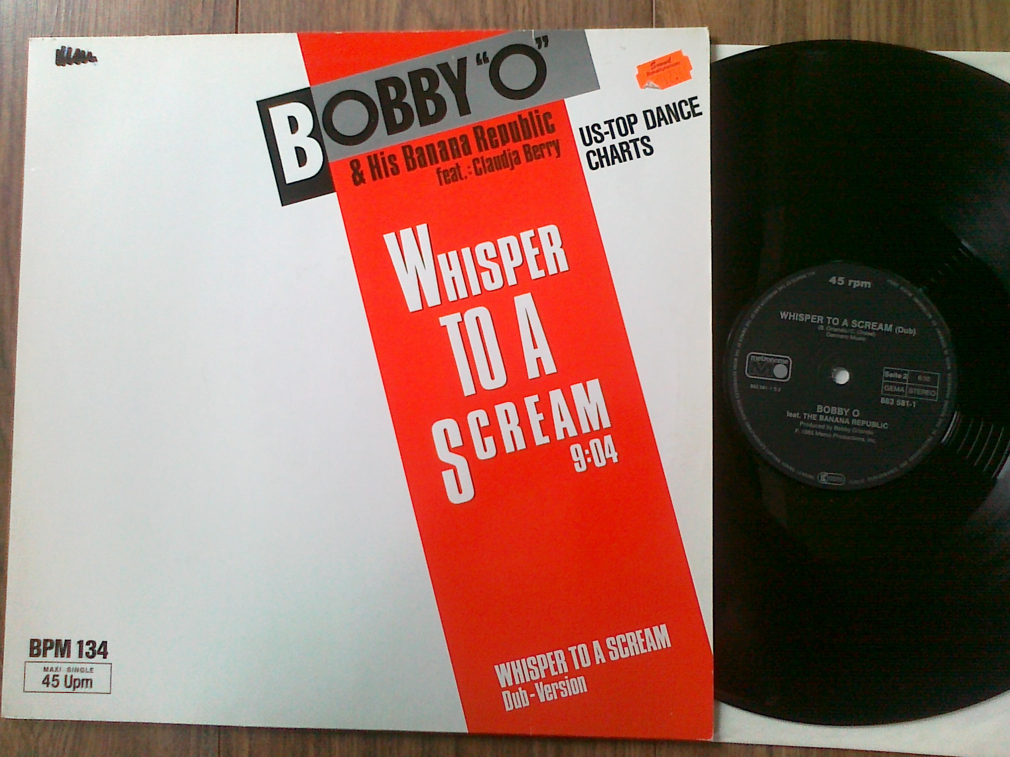 Bobby O and His Banana Republic - Whisper To A Scream