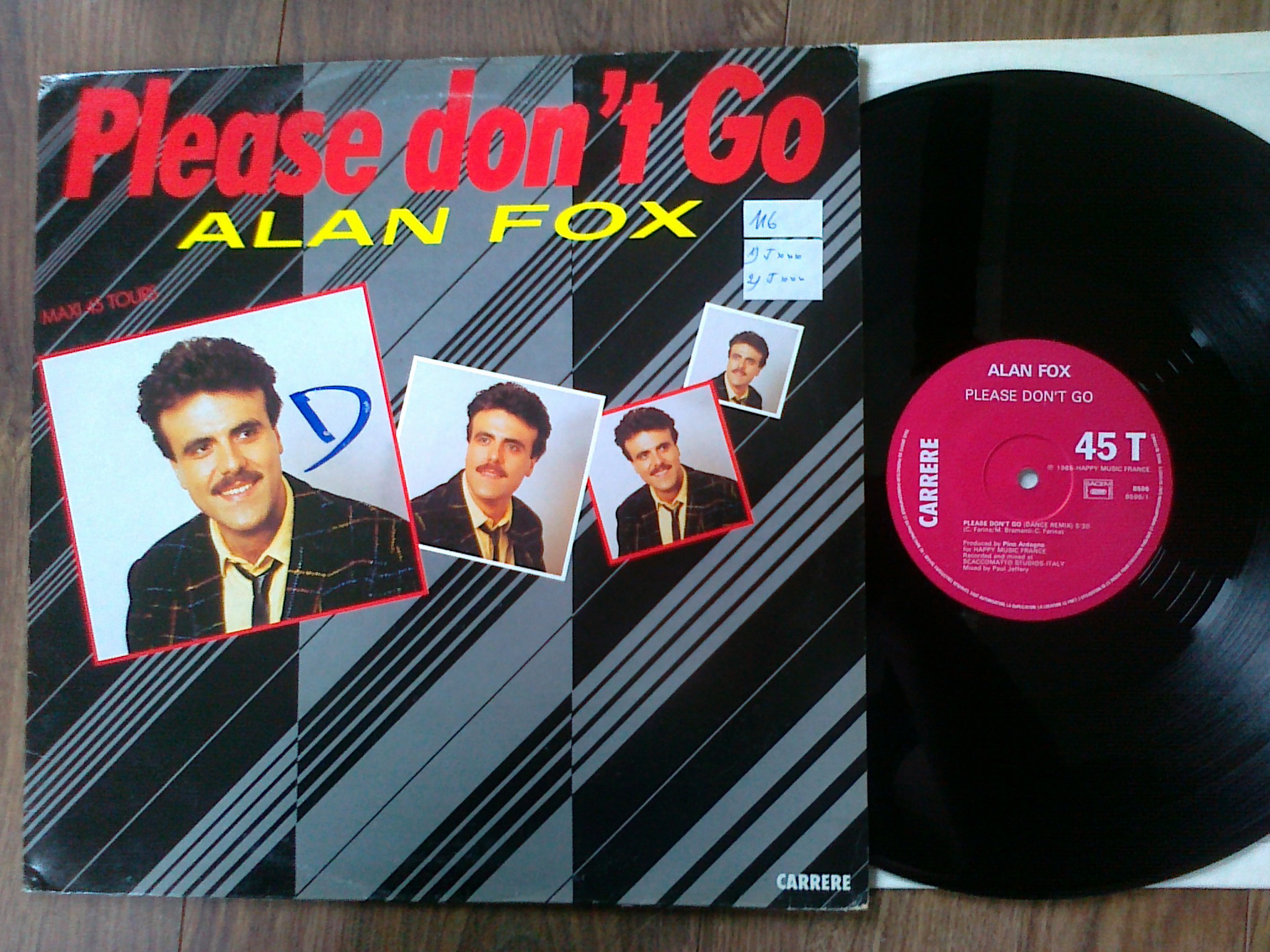 Alan Fox - Please Don't Go