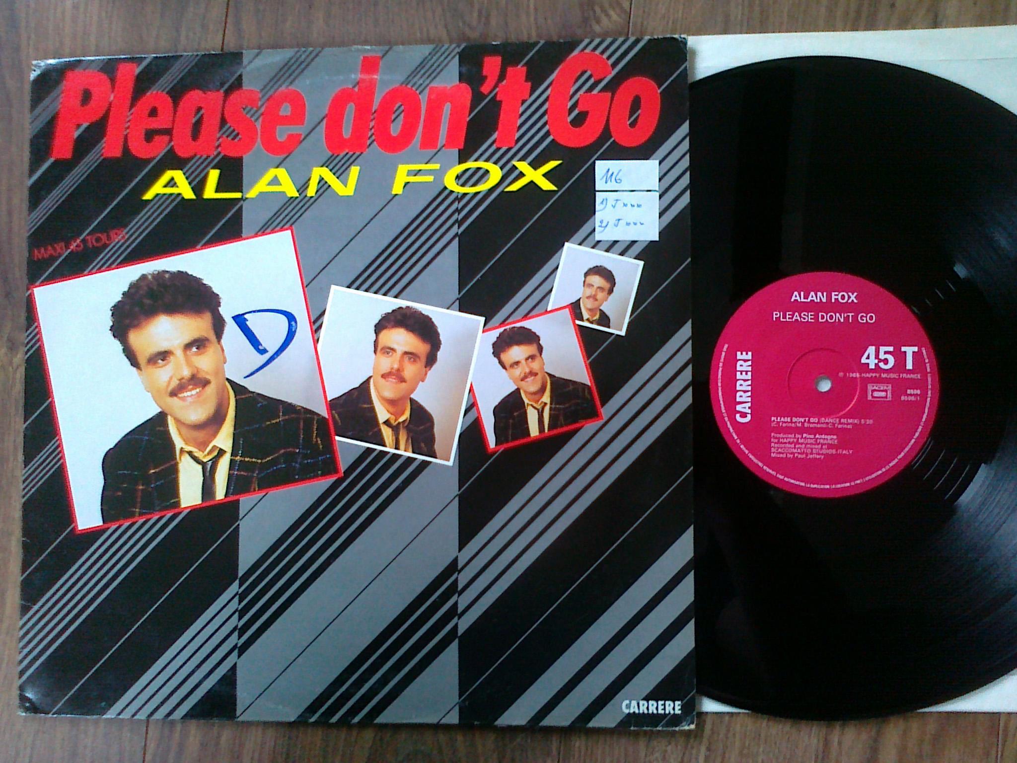 Alan Fox - Please Don't Go
