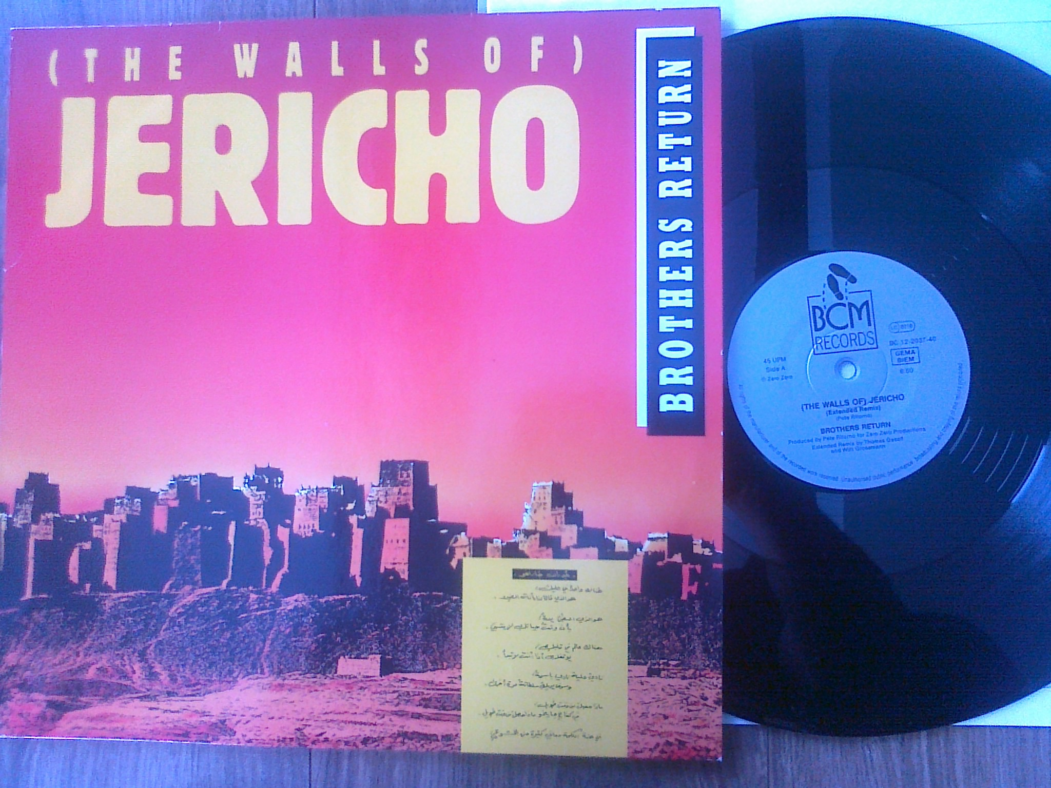 Brothers Return - (The Walls Of) Jericho
