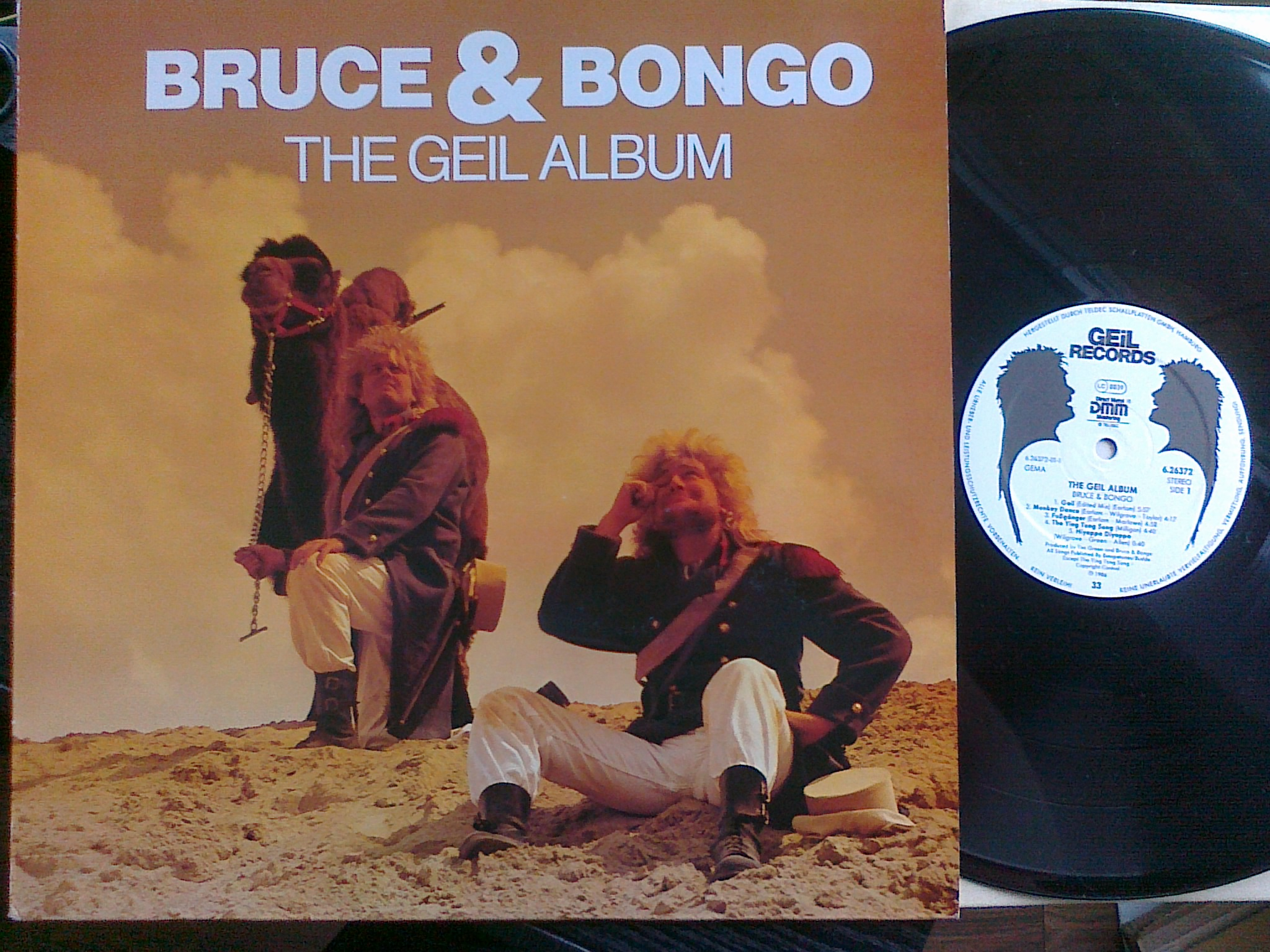 Bruce and Bongo - The Geil Album LP