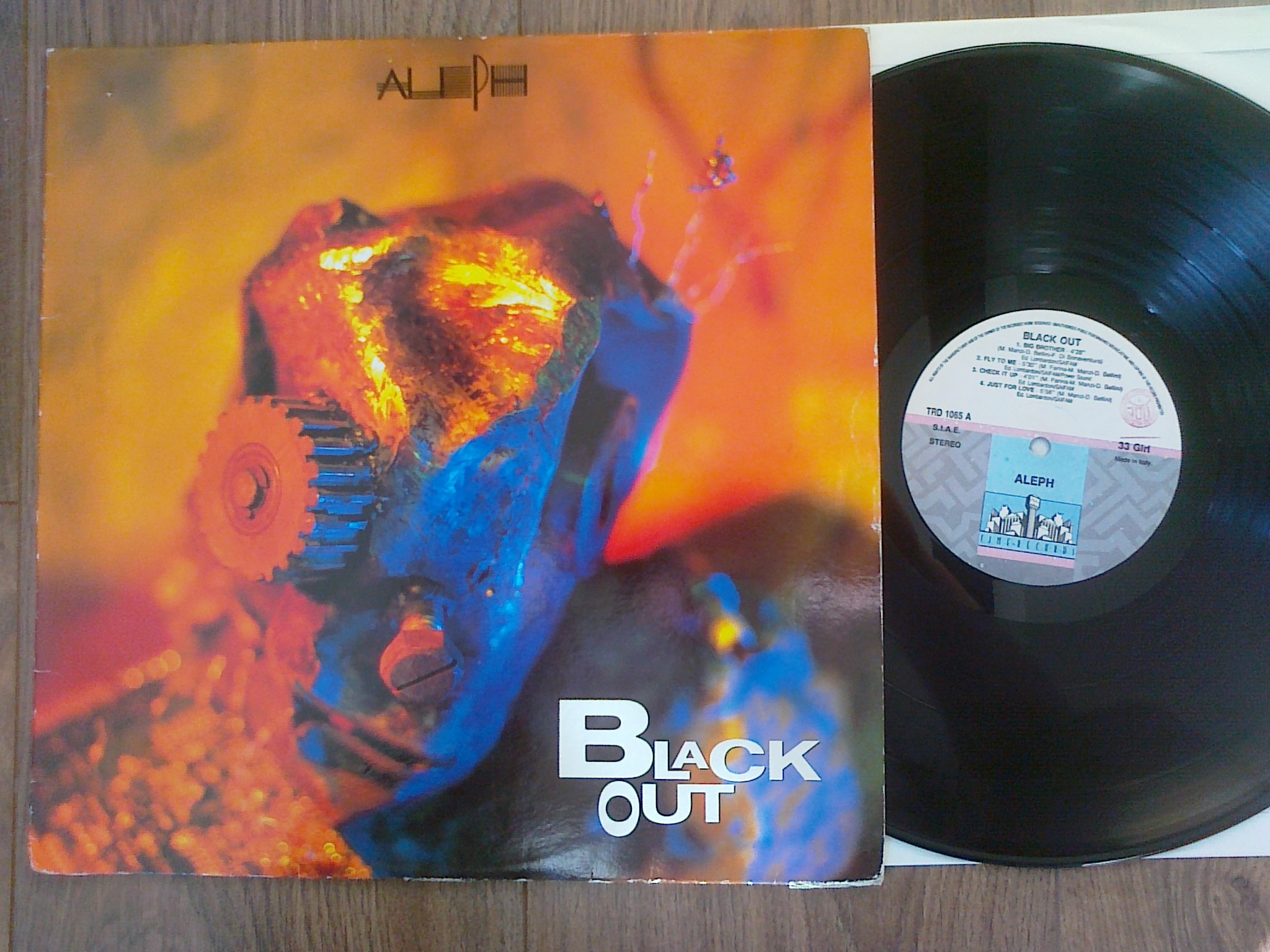 Aleph - Black Out LP