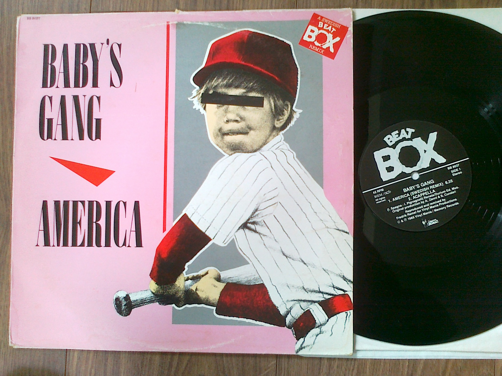 Baby's Gang - America (Beat Box)