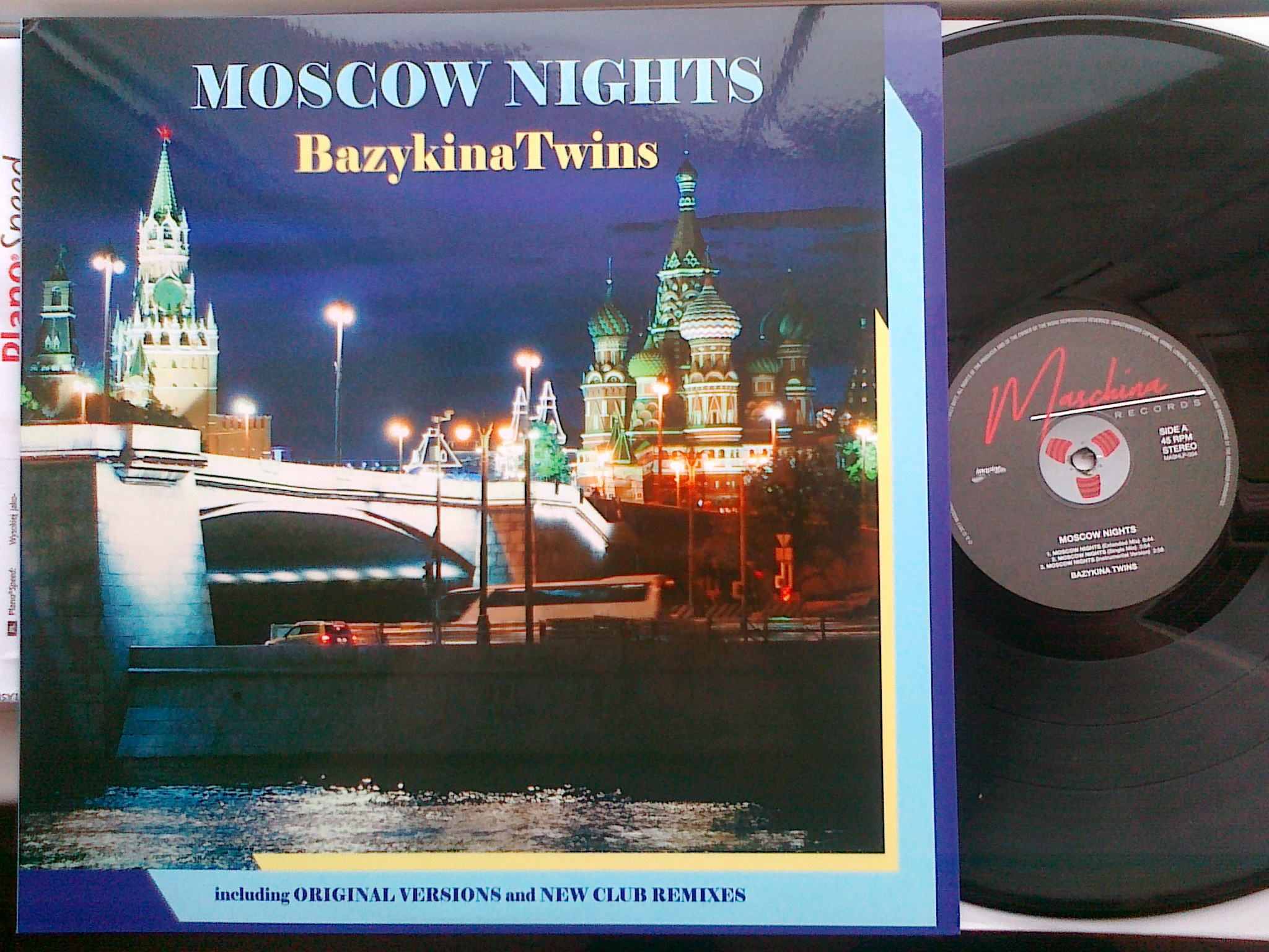 Bazykina Twins - Mscow Nights
