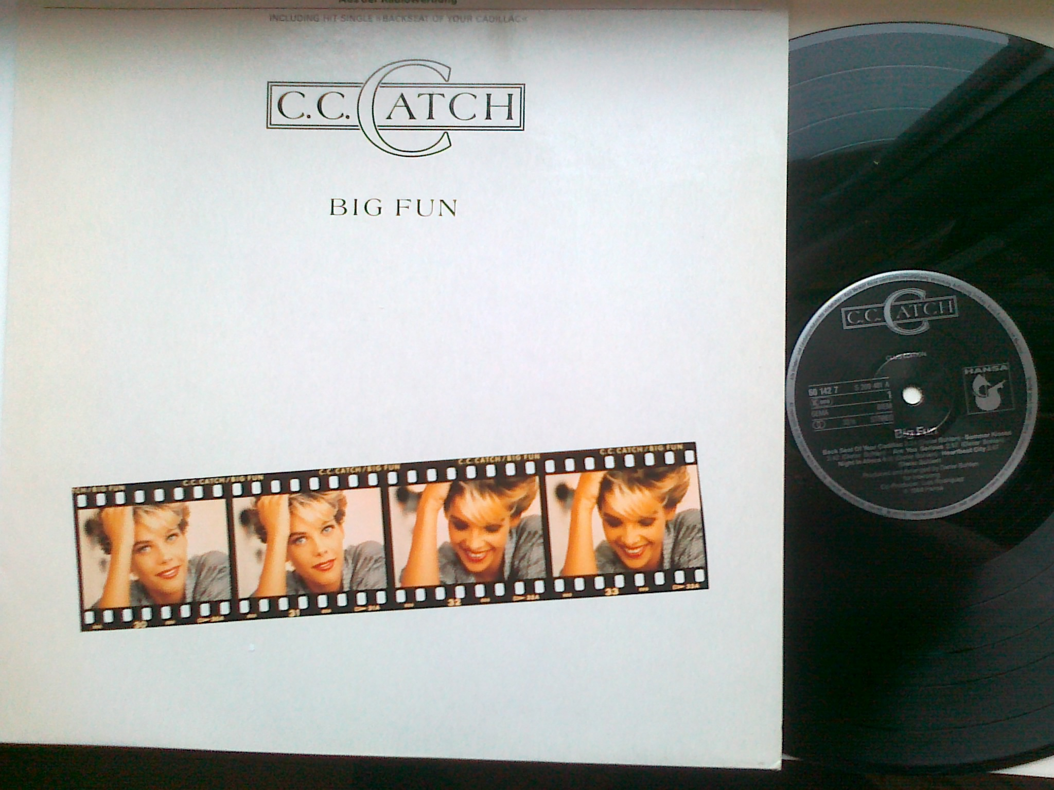 C. C. Catch - Big Fun LP