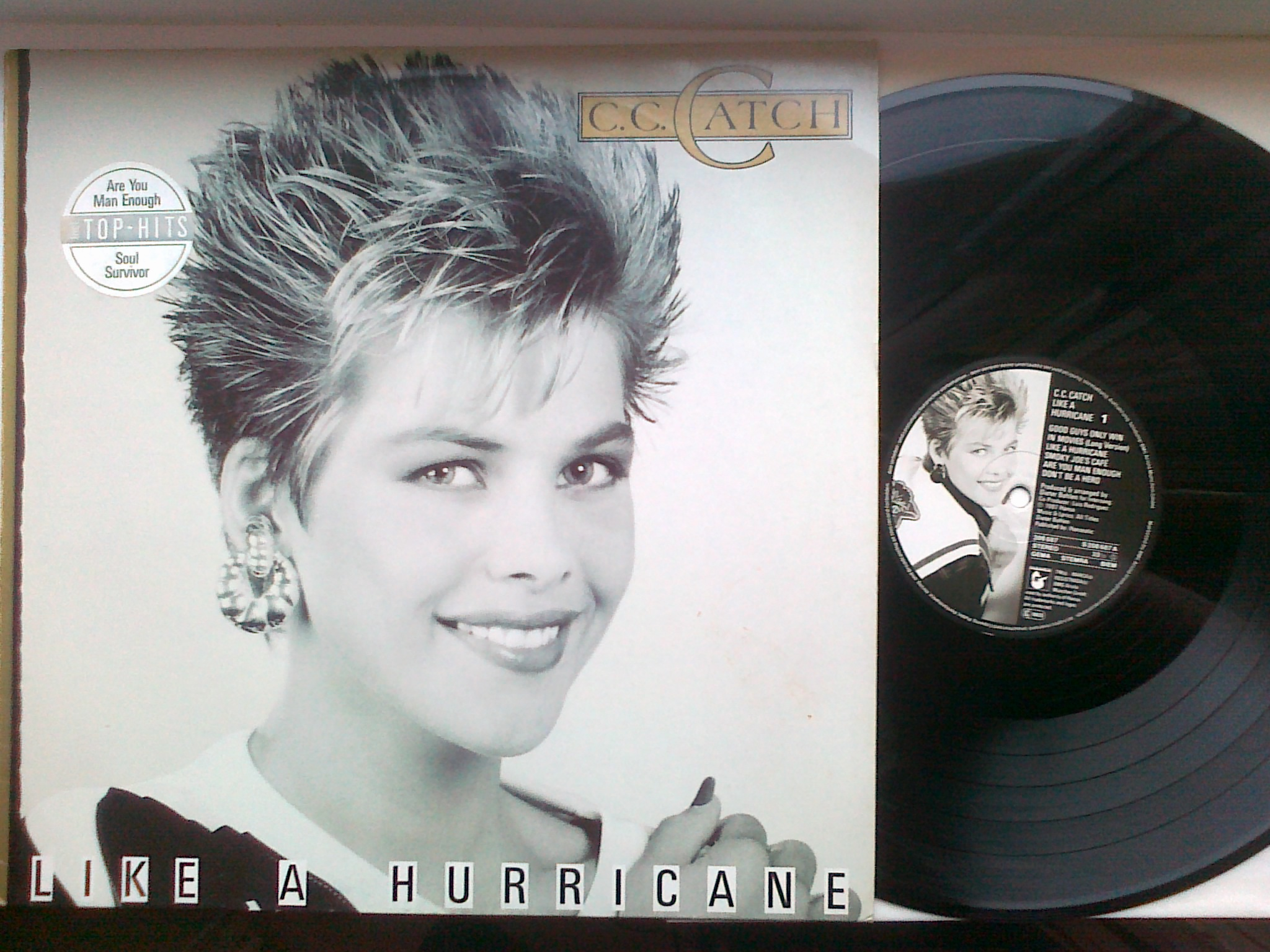 C. C. Catch - Like A Hurricane