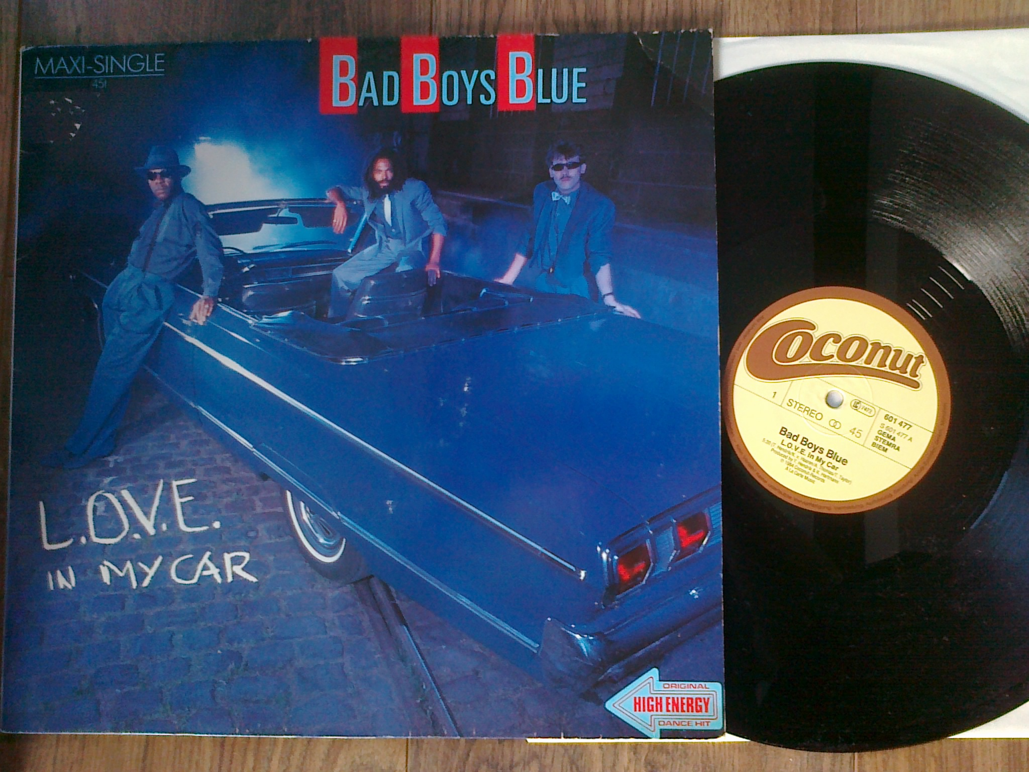 Bad Boys Blue - Love In My Car