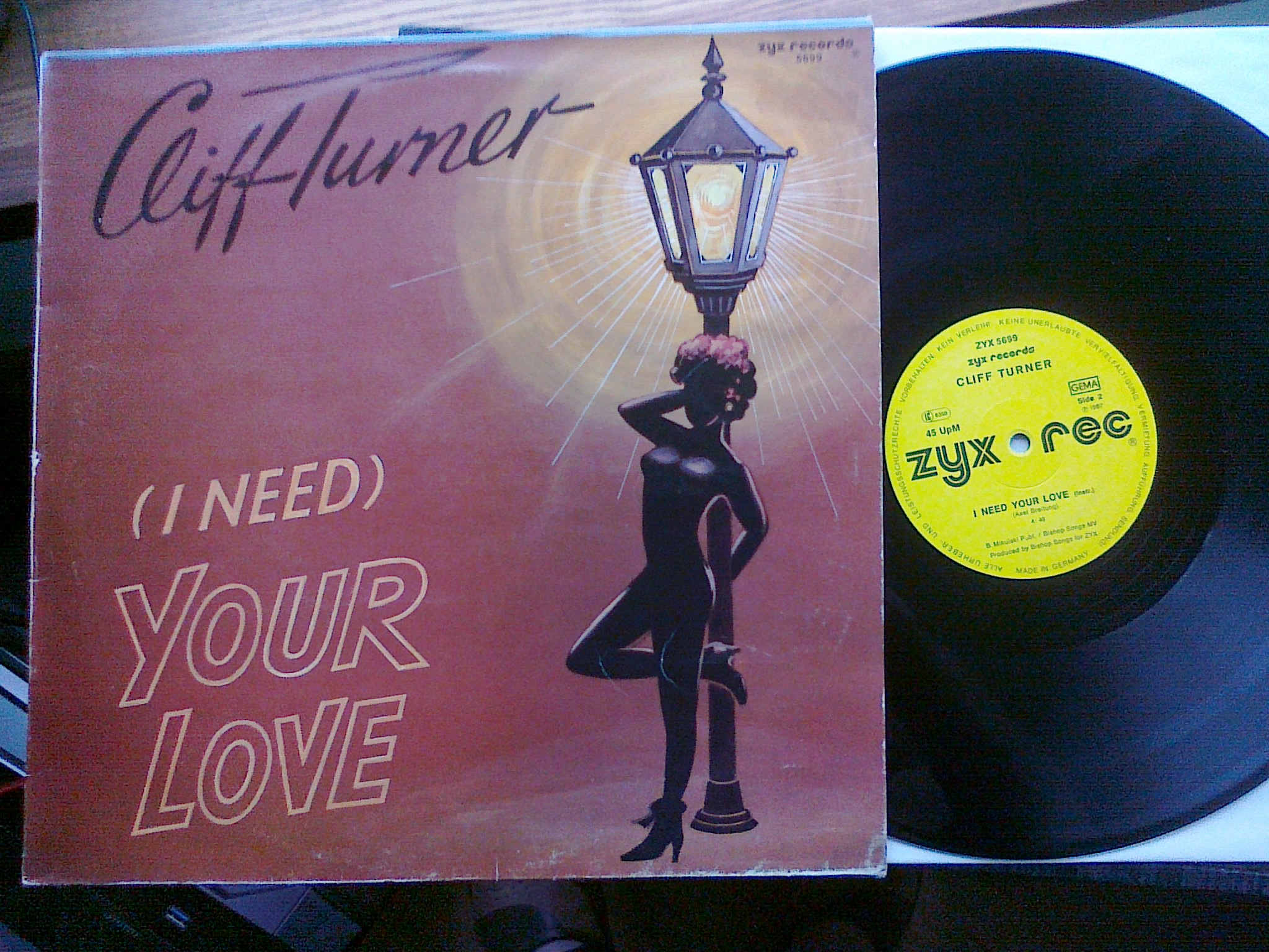 Cliff Turner - I Need Your Love