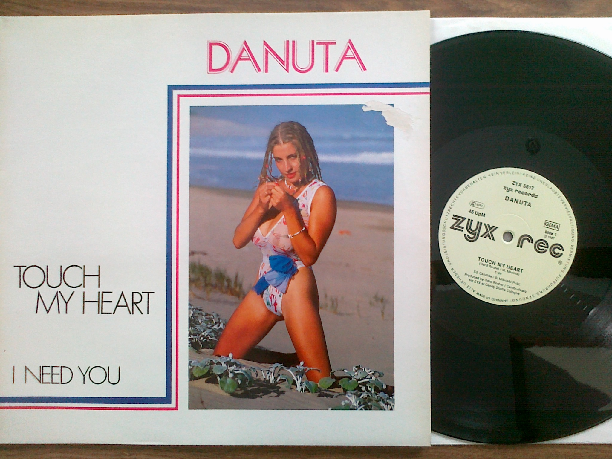 Danuta - Touch my heart