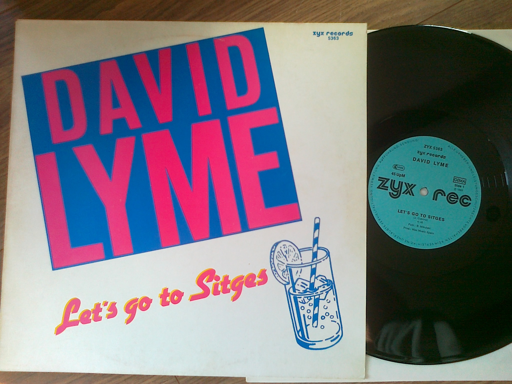 David Lyme ‎- Let's Go To Sitges