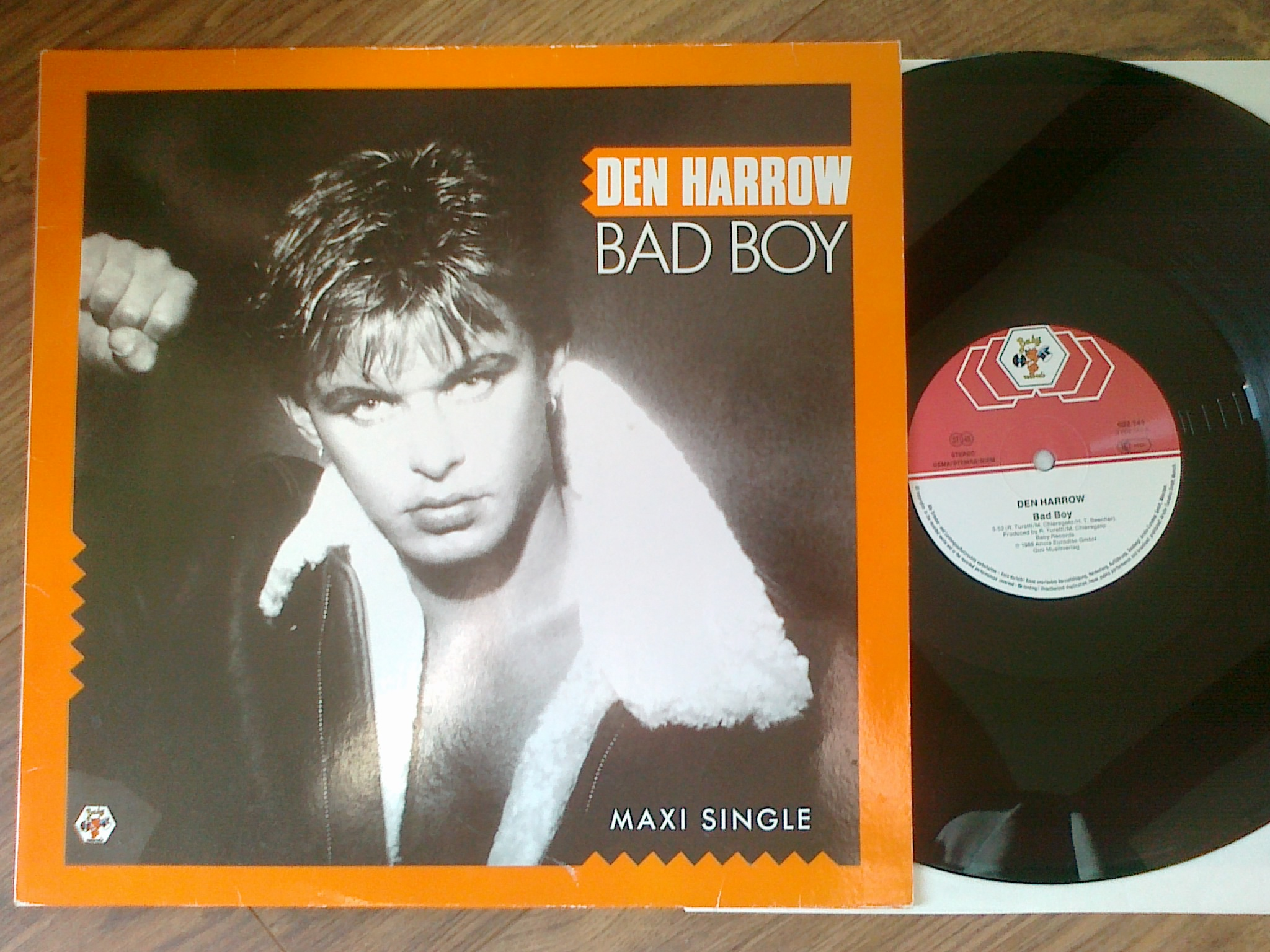 Den Harrow ‎- Bad Boy