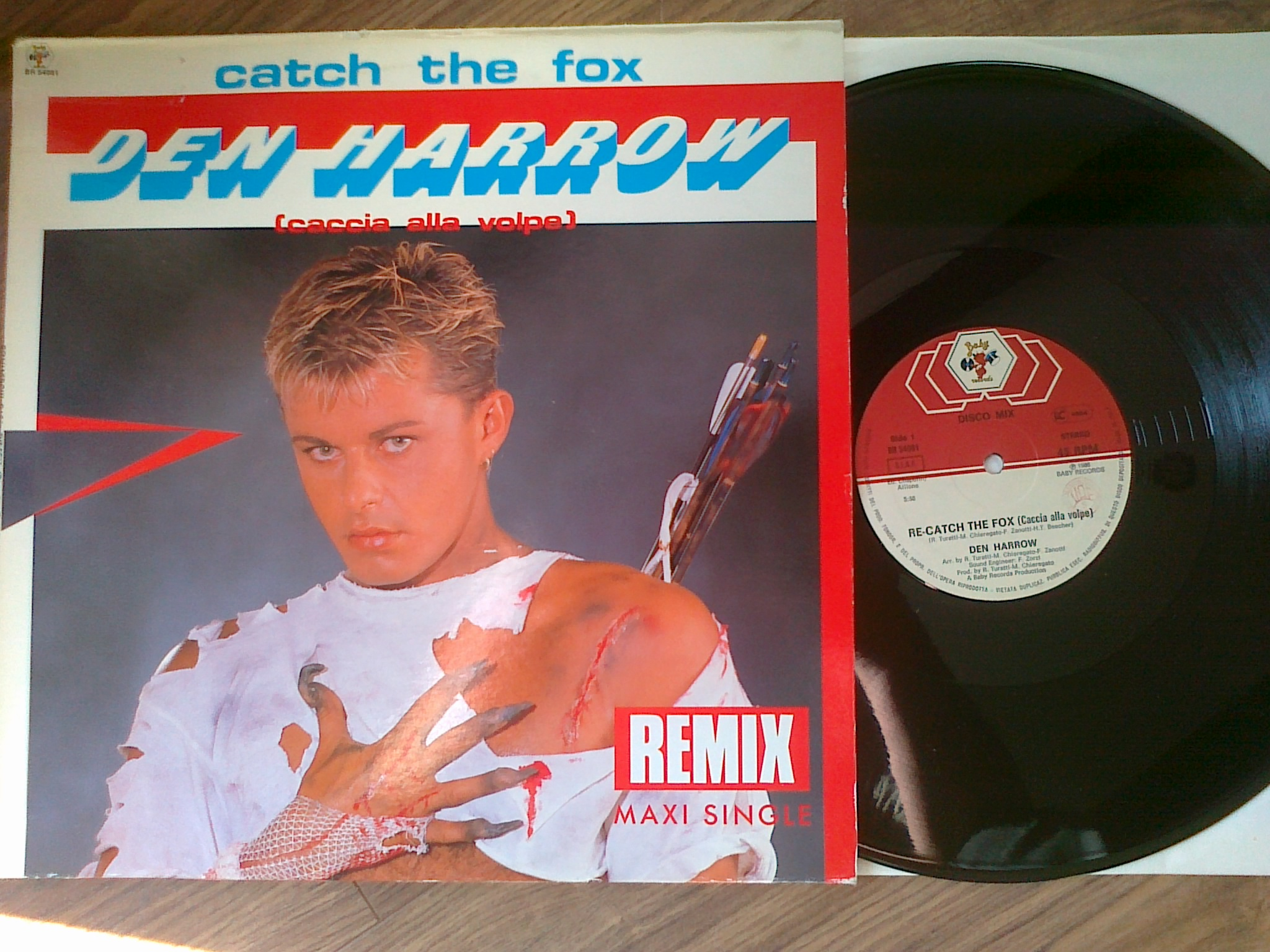 Den Harrow ‎- Catch The Fox (Caccia Alla Volpe) (Remix)