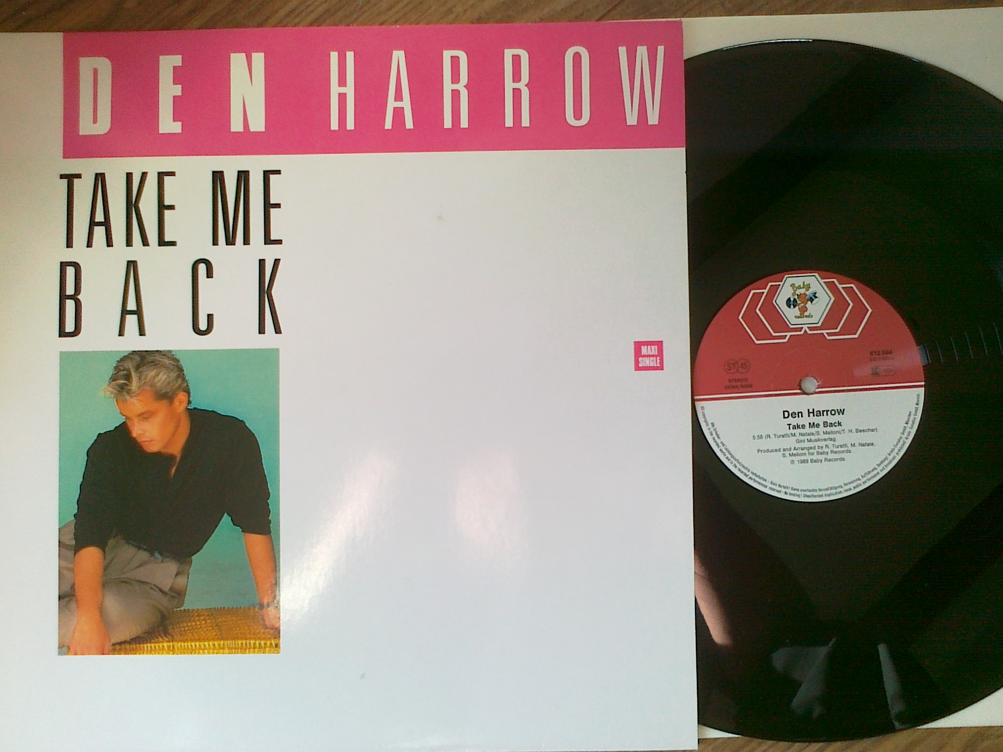 Den Harrow ‎- Take Me Back