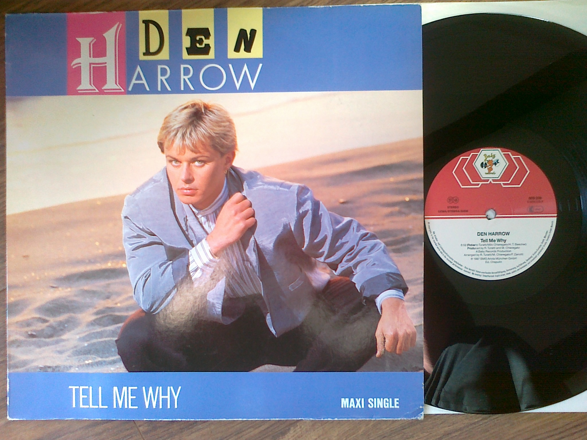 Den Harrow - Tell Me Why