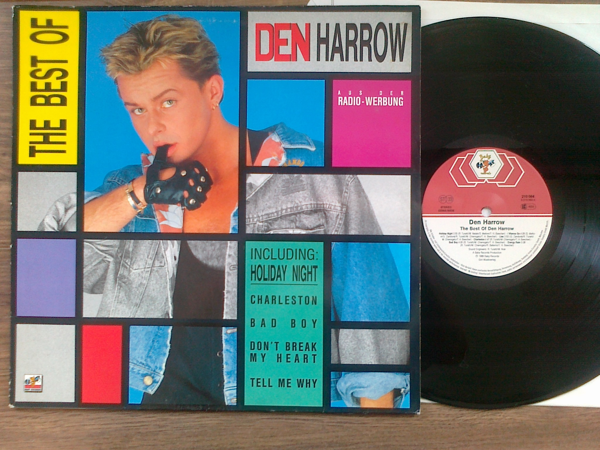 Den Harrow - The Best LP