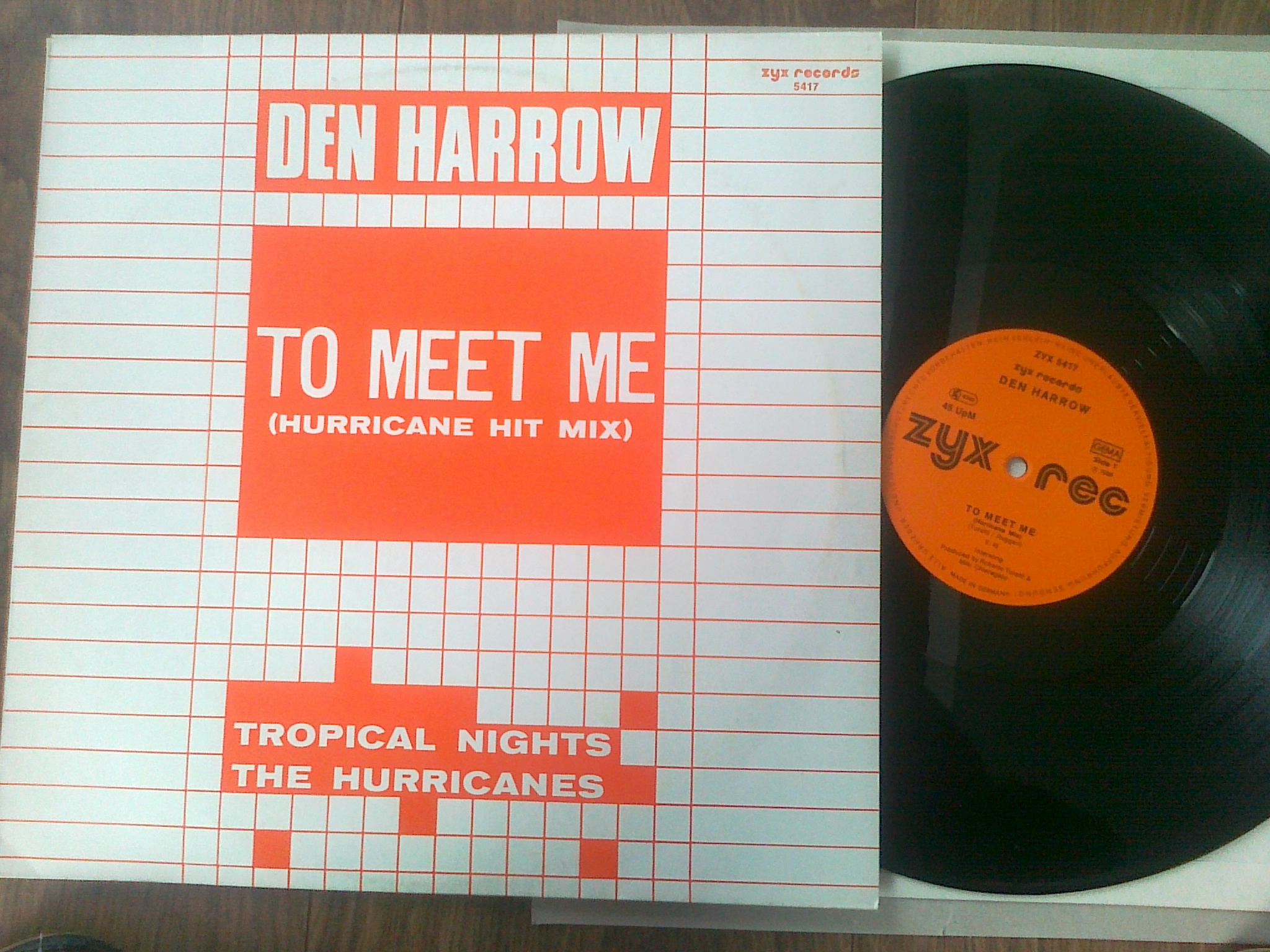 Den Harrow - To Meet Me (Hurricane Hit Mix)