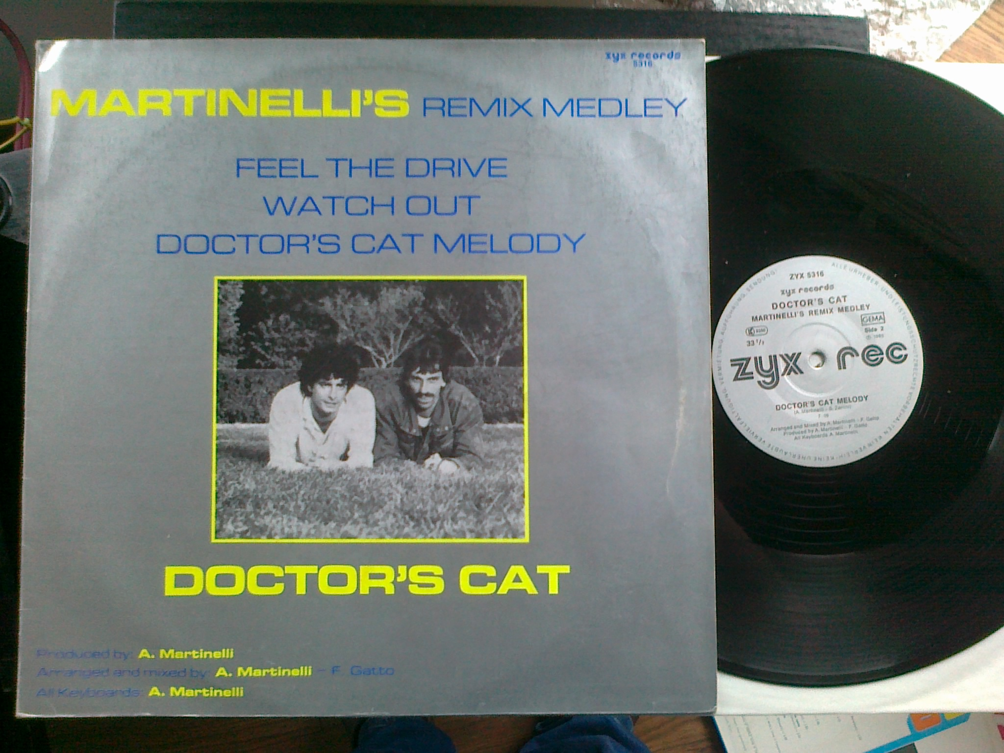 Doctor's Cat - Martinelli's Remix Medley