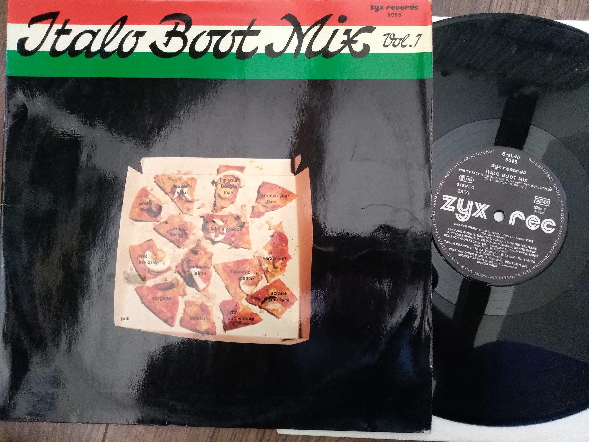 Italo Boot Mix - Vol.01 1984