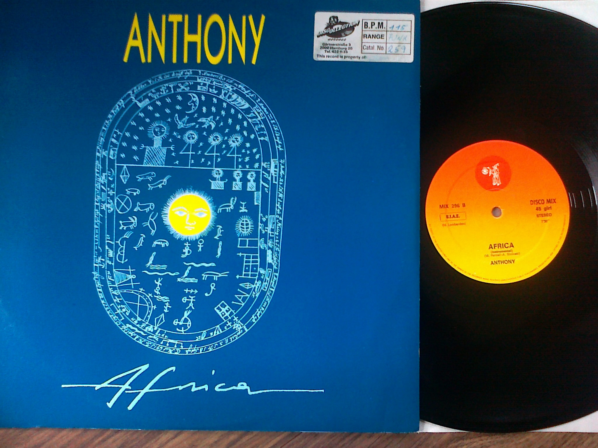 Anthony - Africa