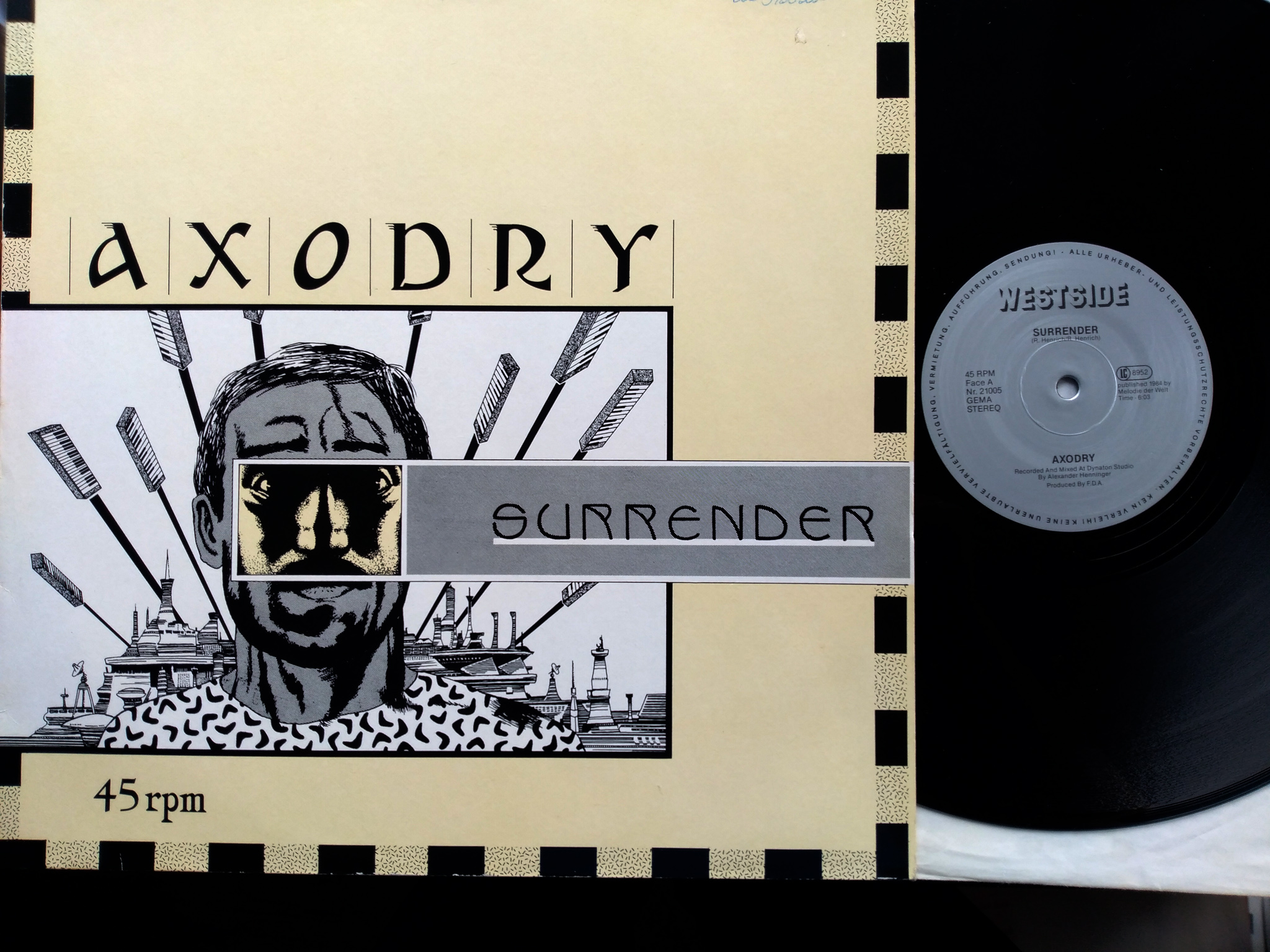 Axodry ‎- Surrender