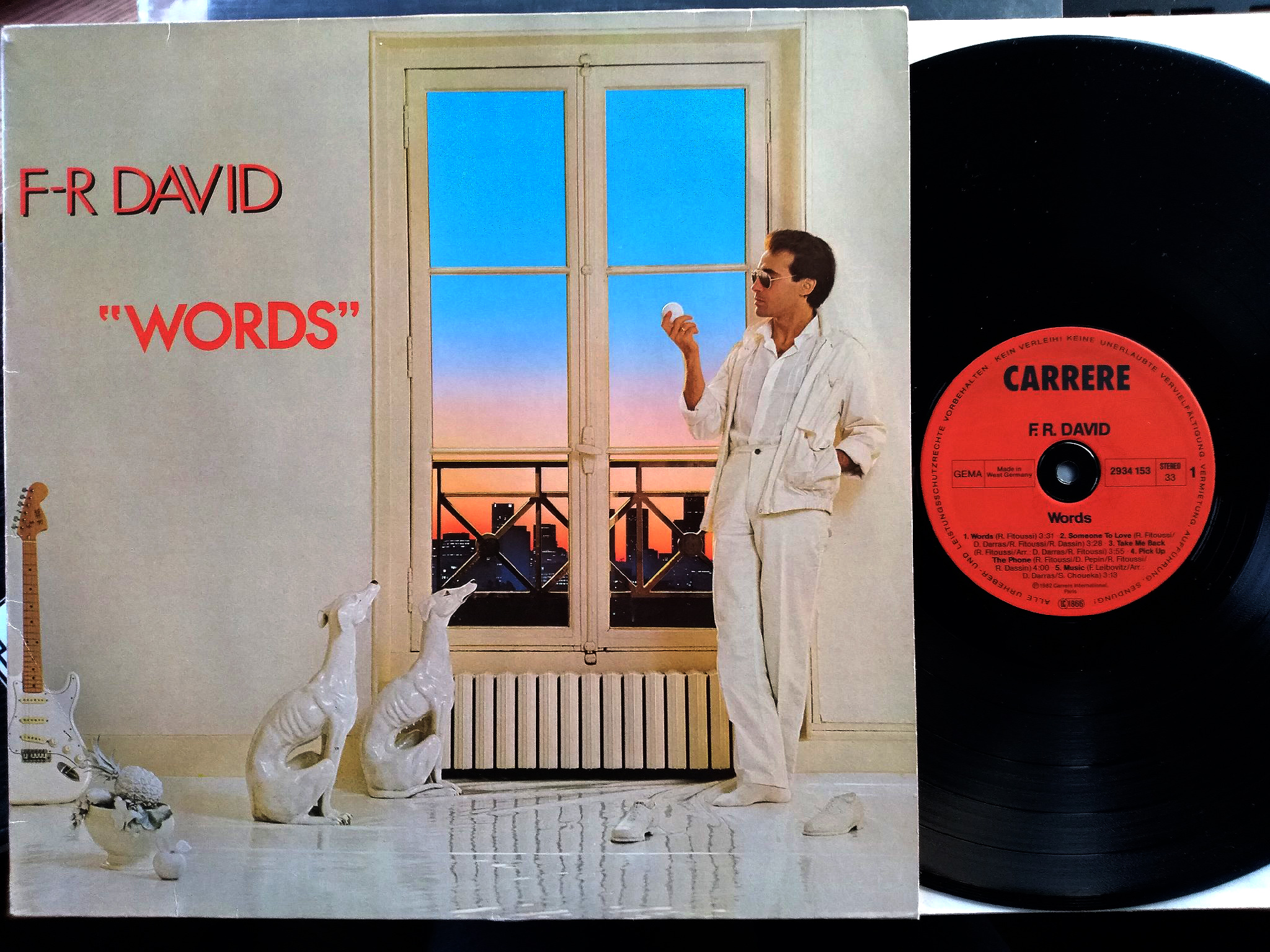 F.R David - Words LP