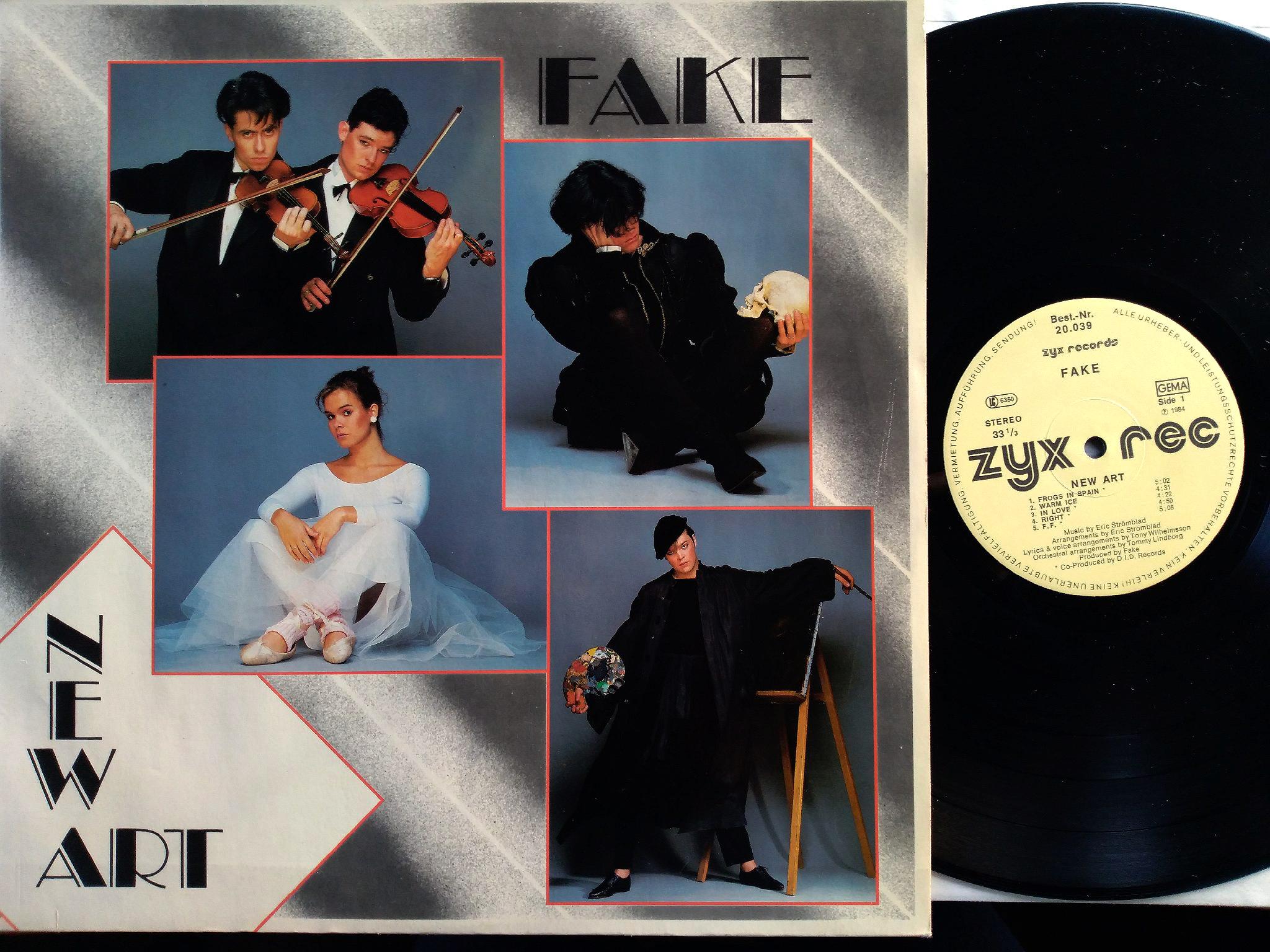 Fake - New Art LP