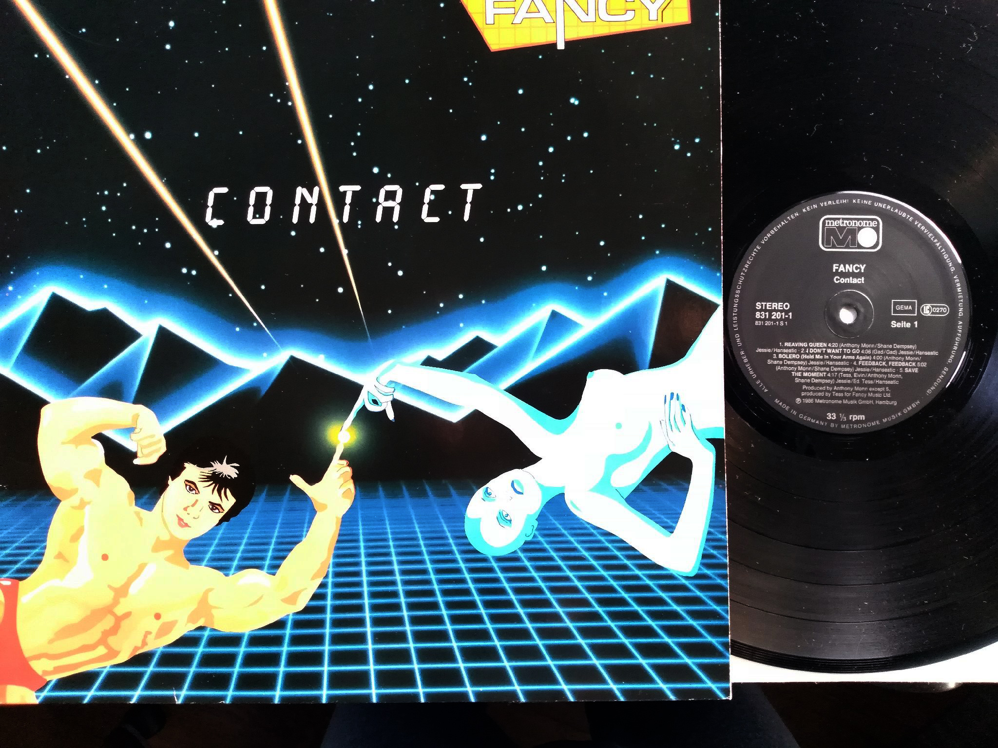 Fancy - Contact (LP)