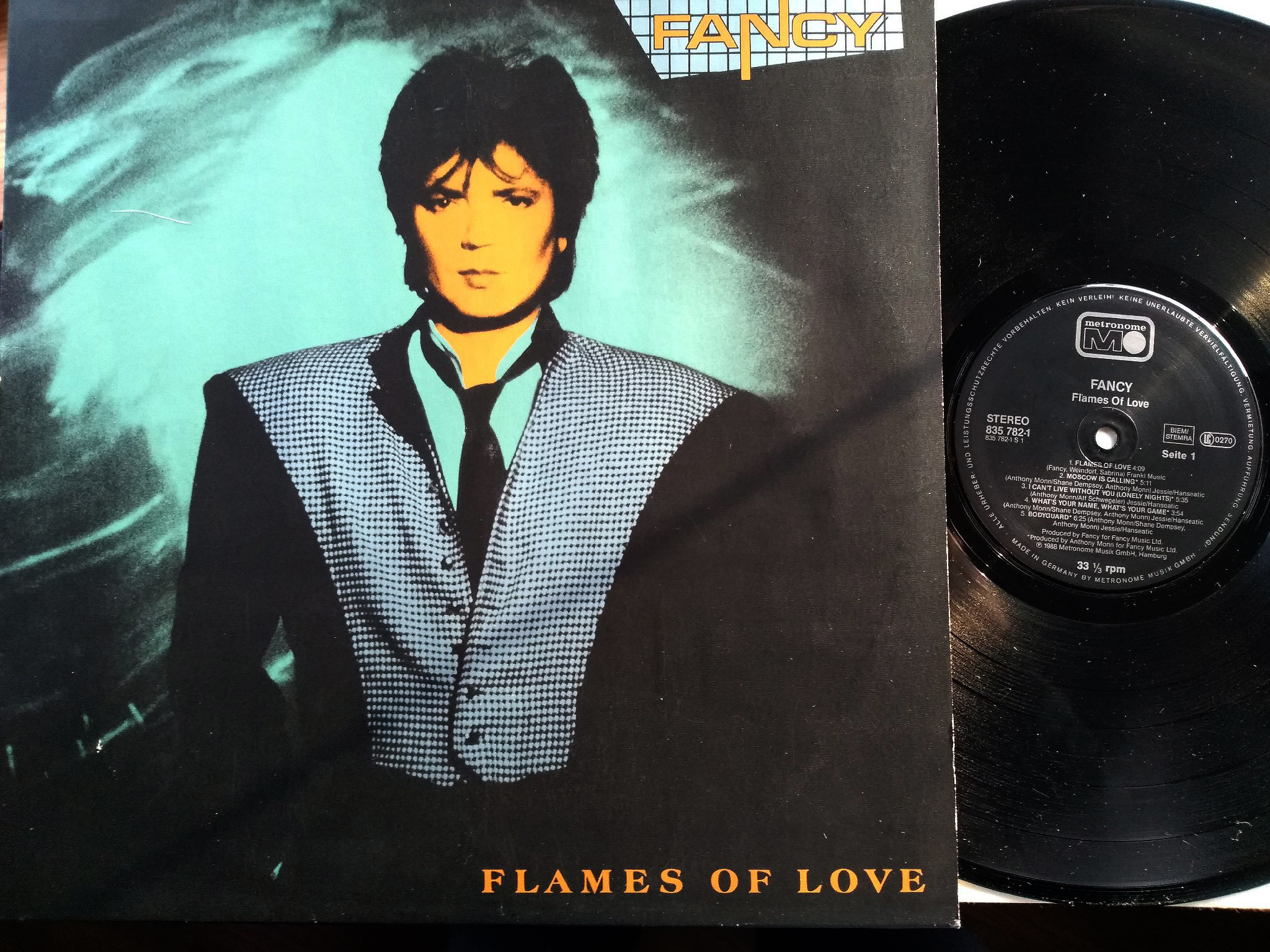 Fancy - Flames Of Love LP