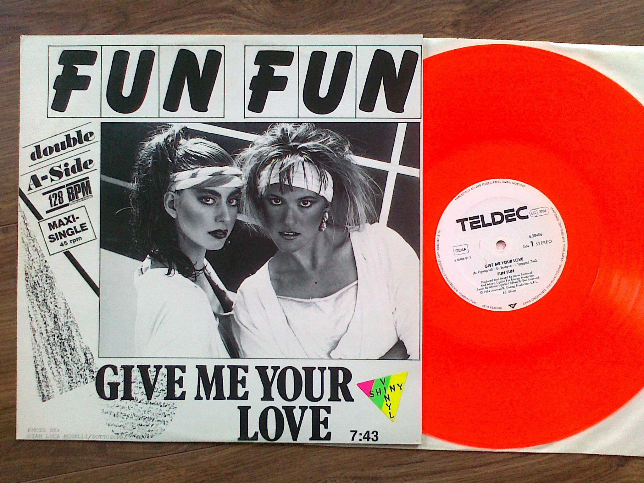 Fun Fun - Give Me Your Love