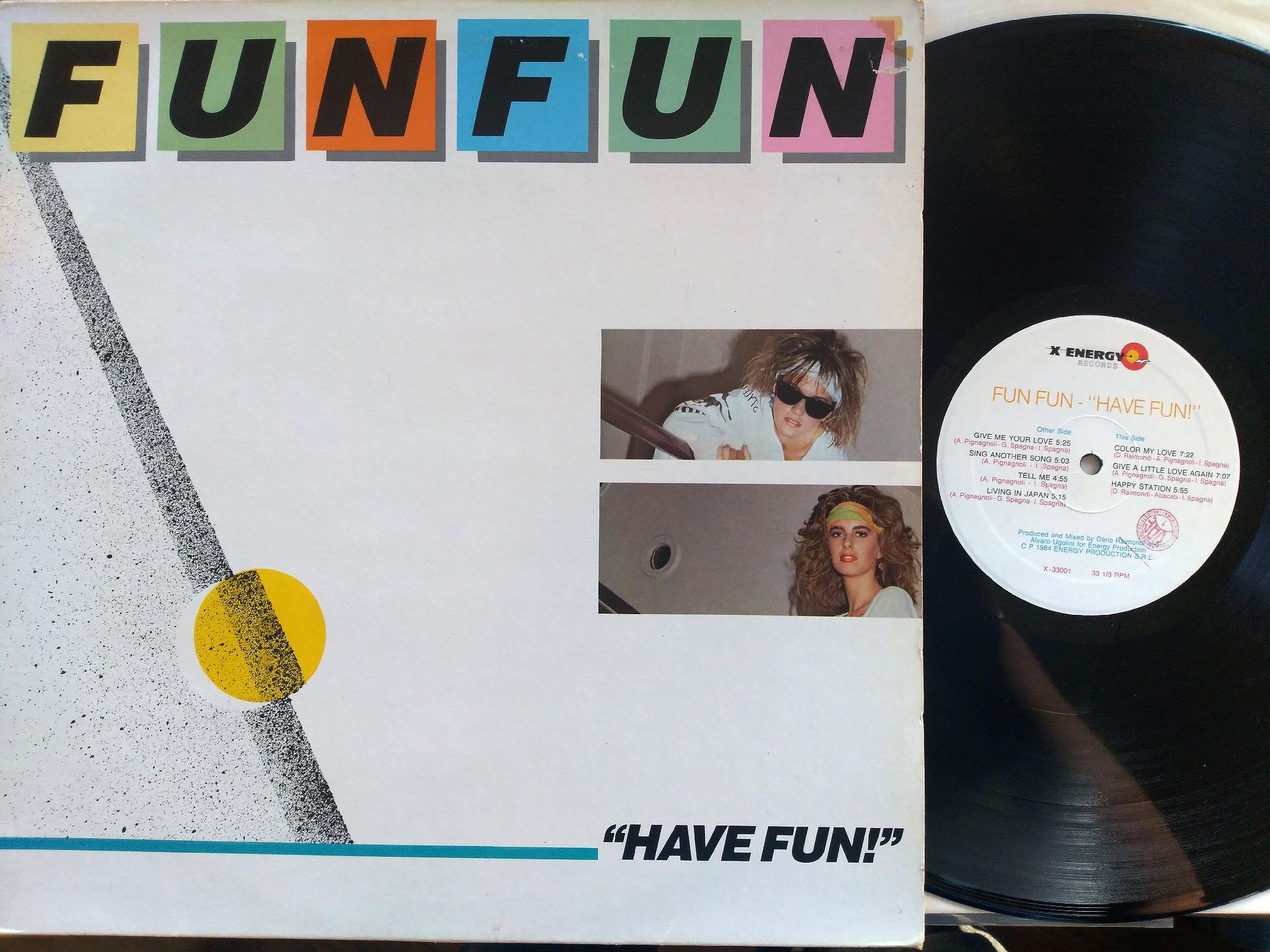 Fun Fun - Have Fun LP