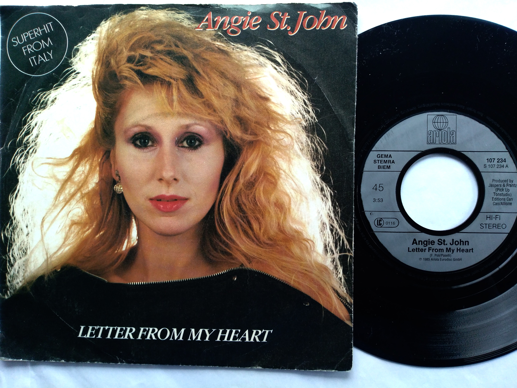 Angie St.John - Letter From My Heart 7'