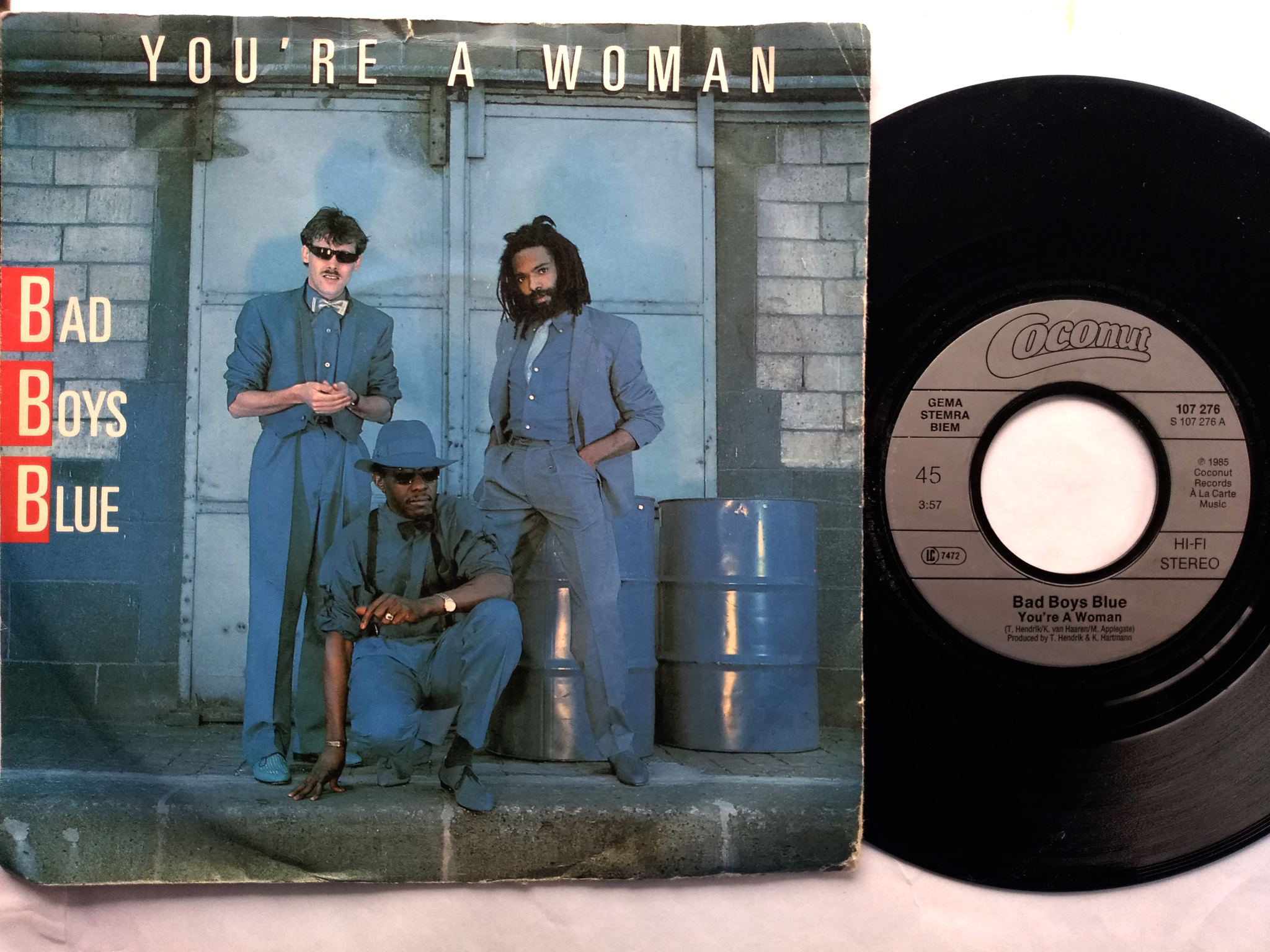 Bad Boys Blue - You're A Woman 7'