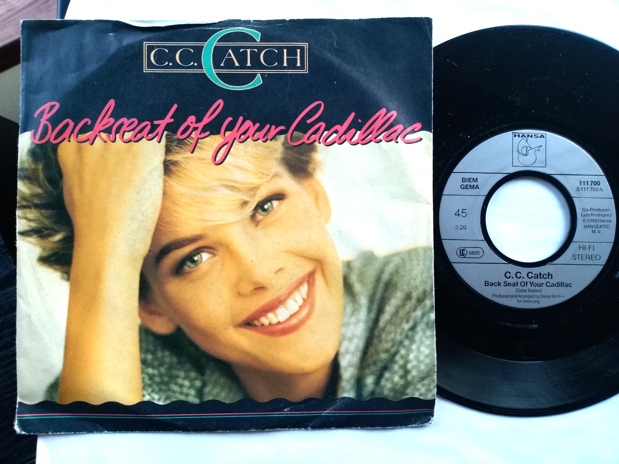 C. C. Catch - Back  Seat Of Your  Cadillac 7'