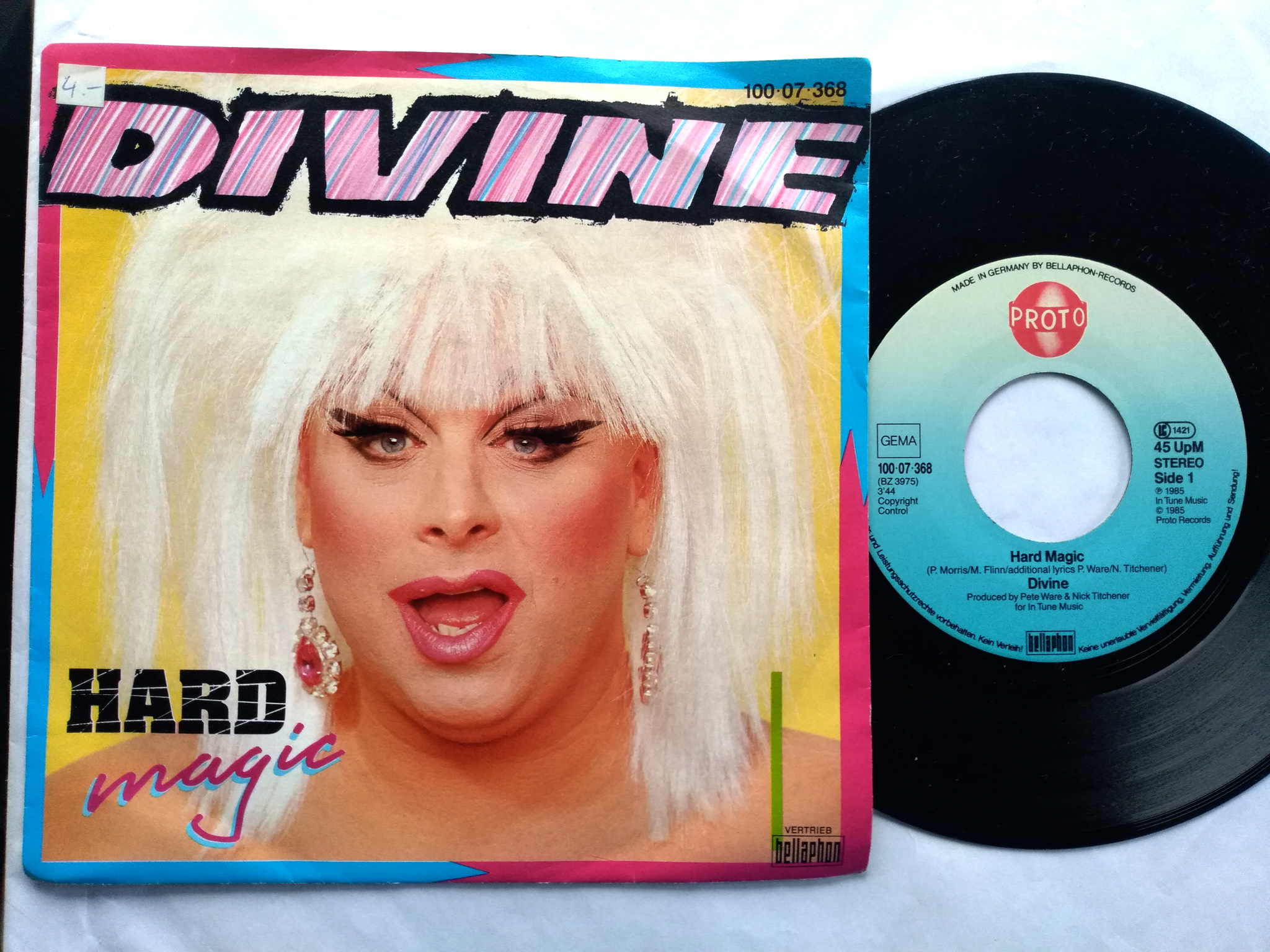 Divine - Hard Magic 7'