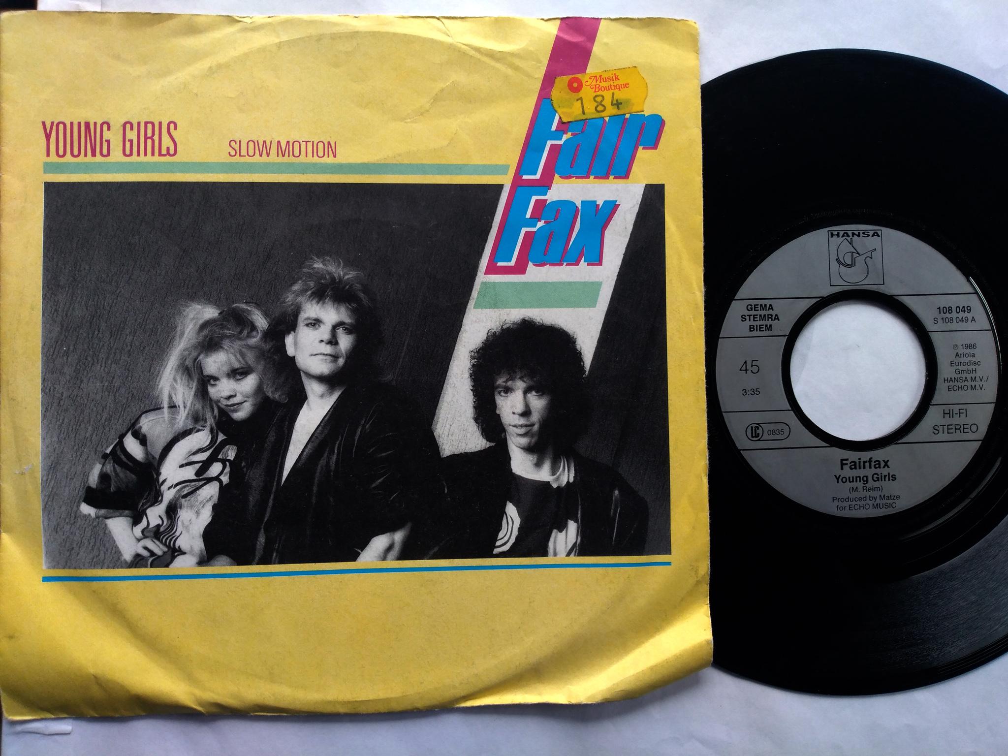 Fair Fax - Young Girls 7'