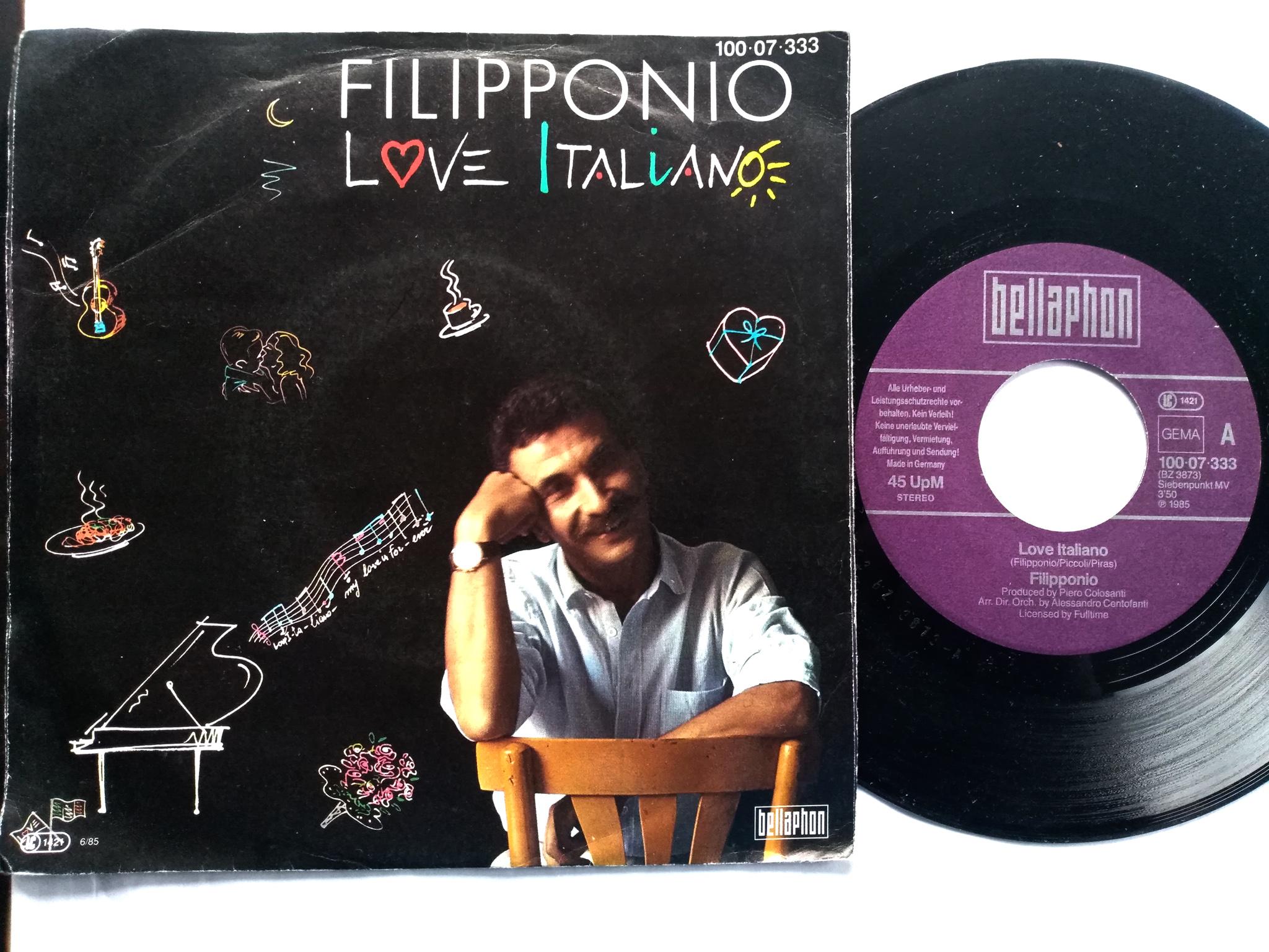 Filipponio - Love  Italiano 7'