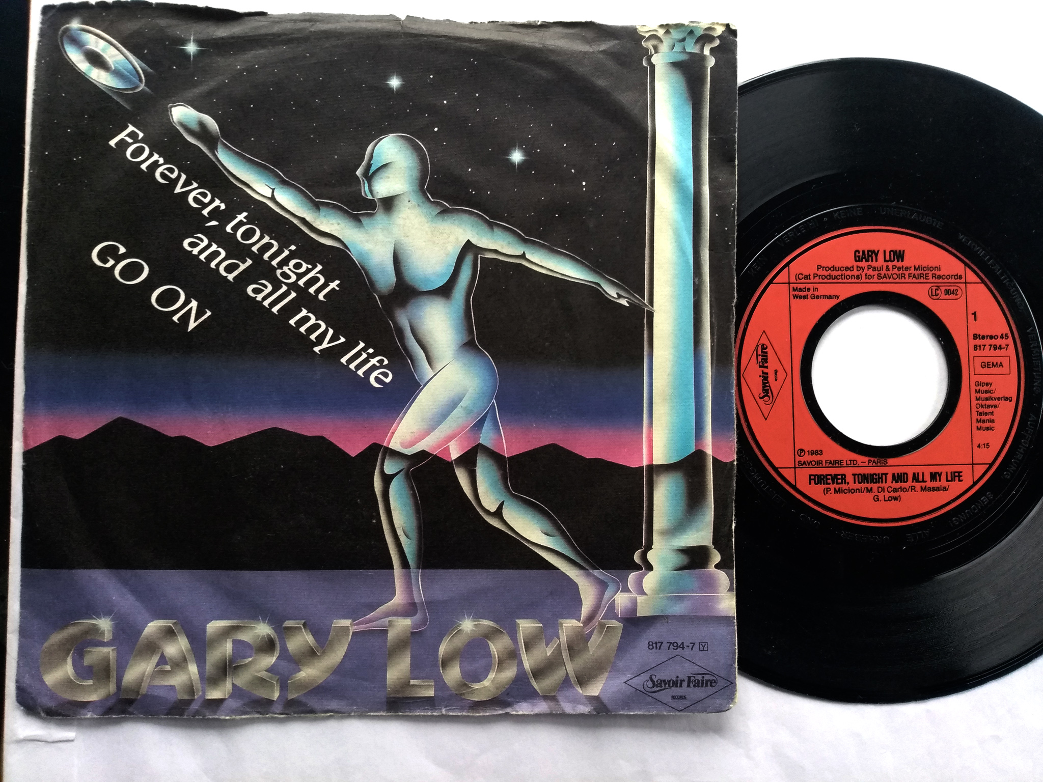 Gary Low - Forever Tonight And All  My Life 7'