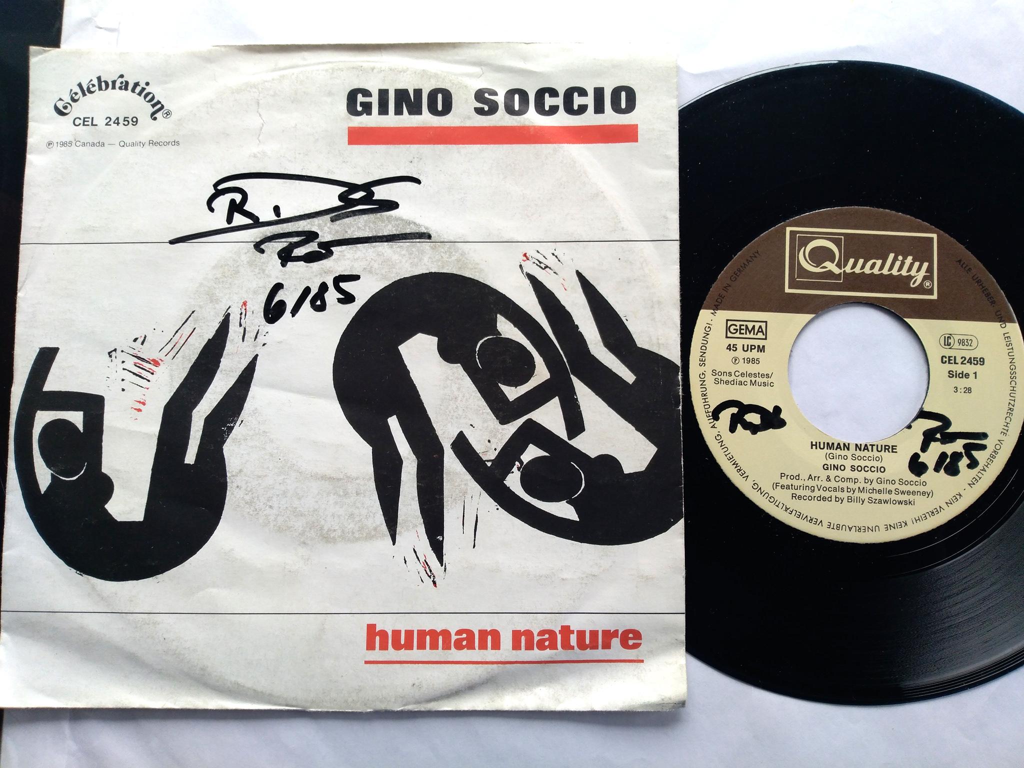 Gino Soccio - Human Nature 7'